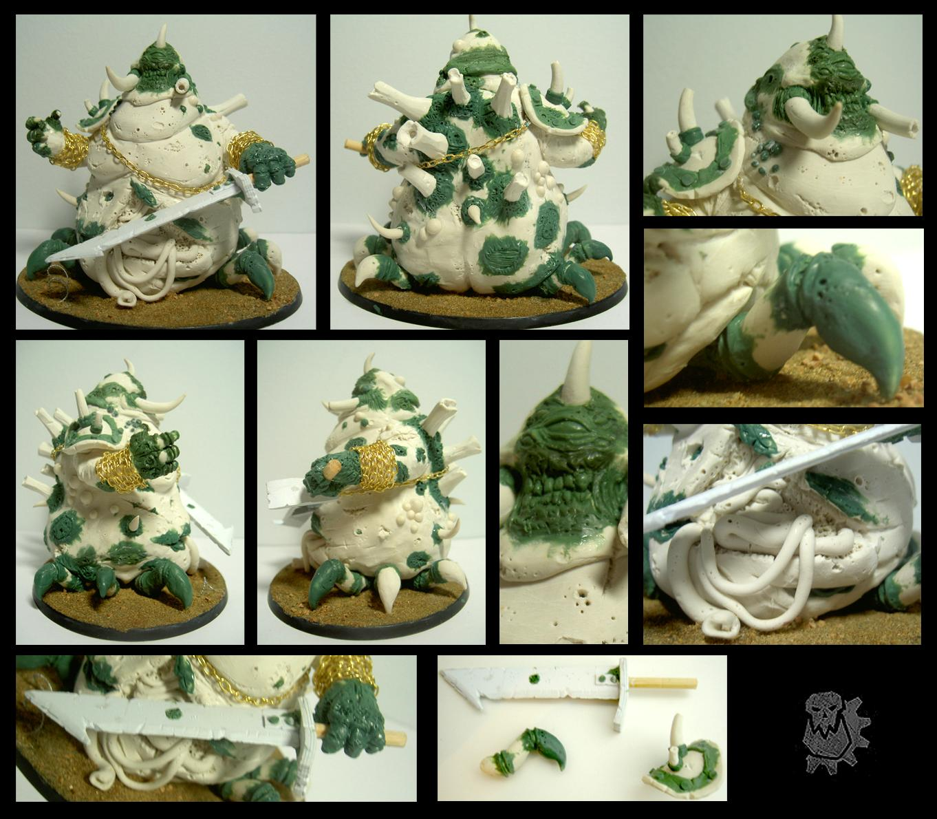 Great Unclean One, Sculpey