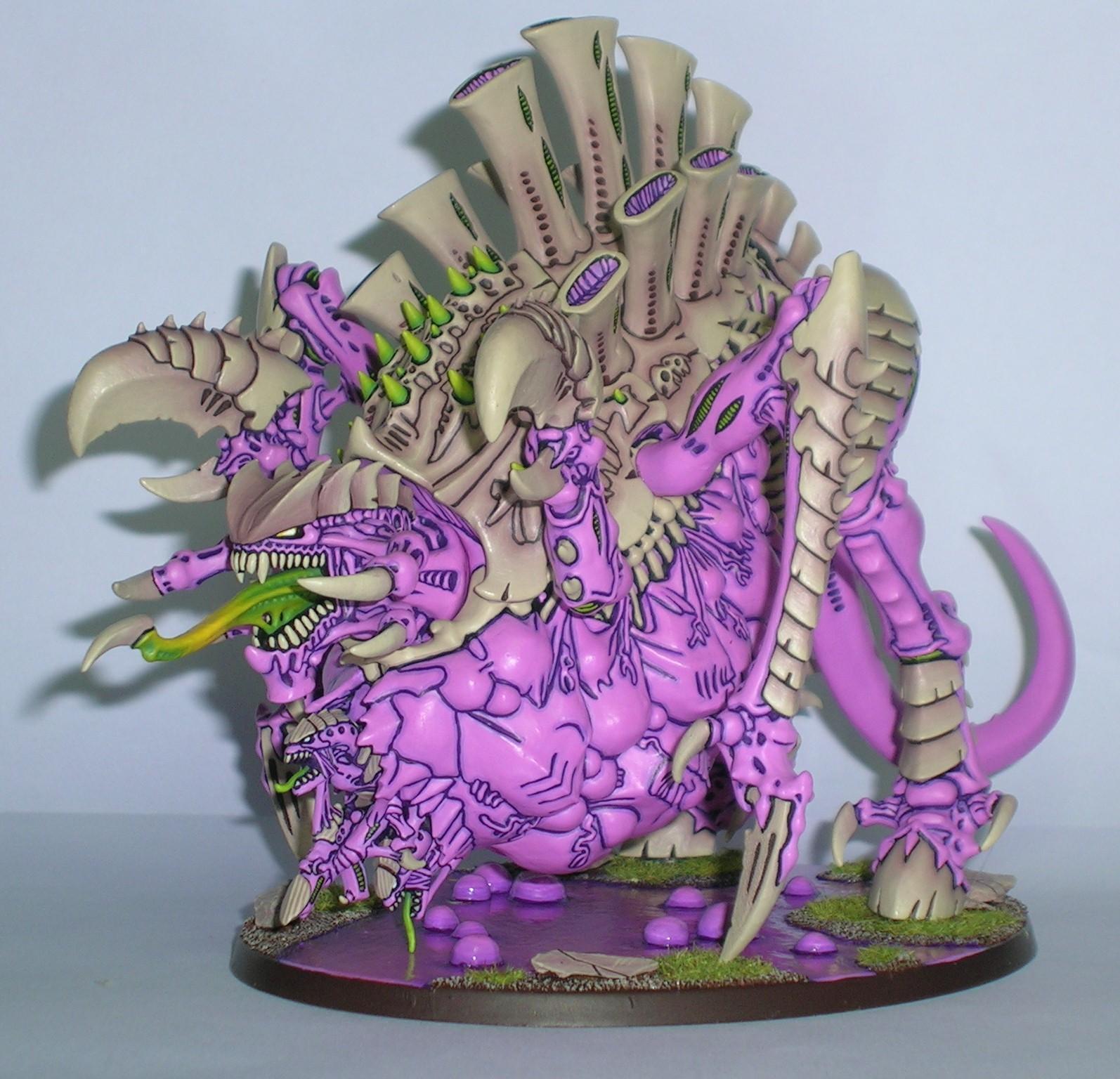 Bone, Monstrous Creature, Pink, Tyranids