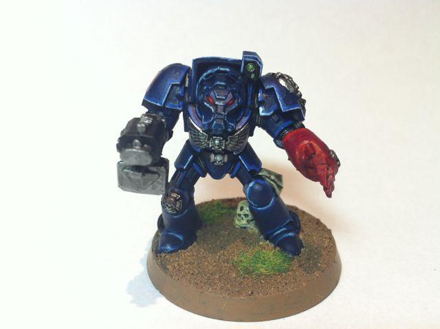 Space Marines, Crimson Fist Terminator