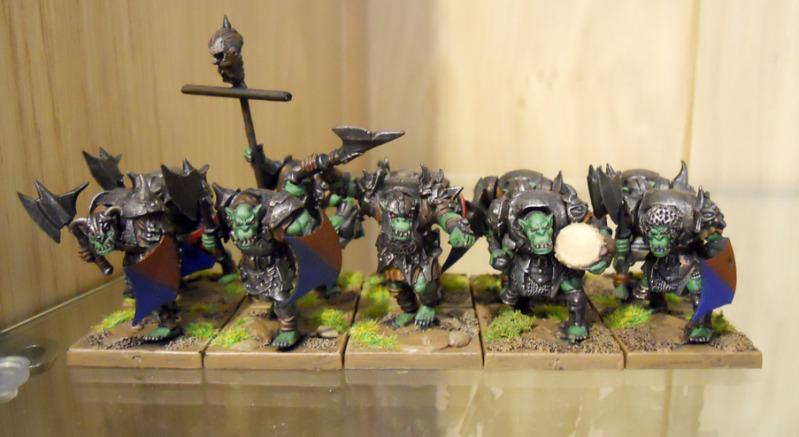 Axes, Mantic, Orcs, Warhammer Fantasy