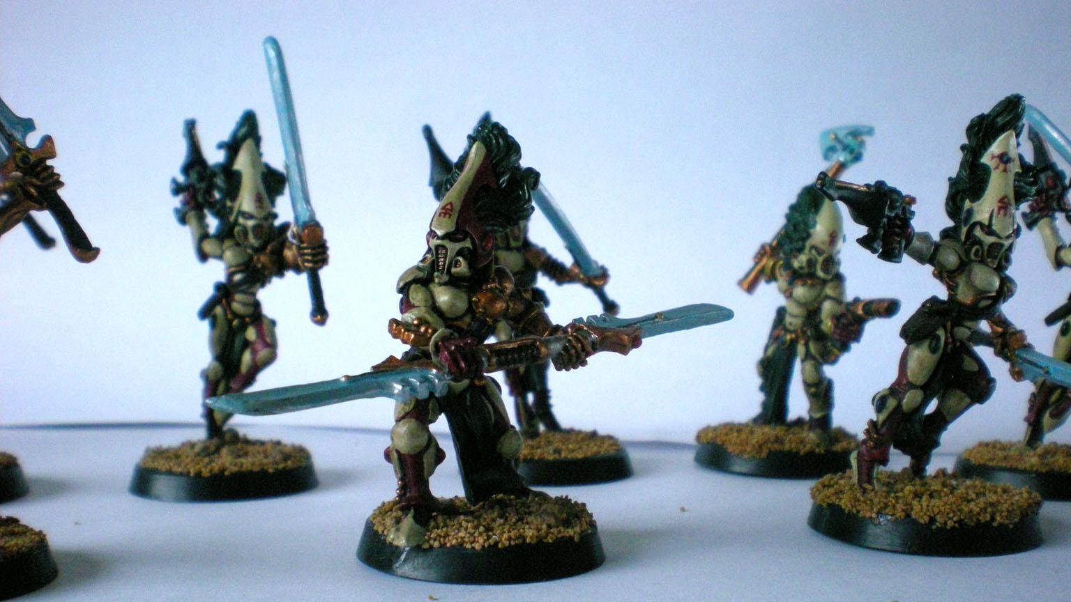 Craftworld, Eldar, Howling Banshees, Kuronash, Saim-hann