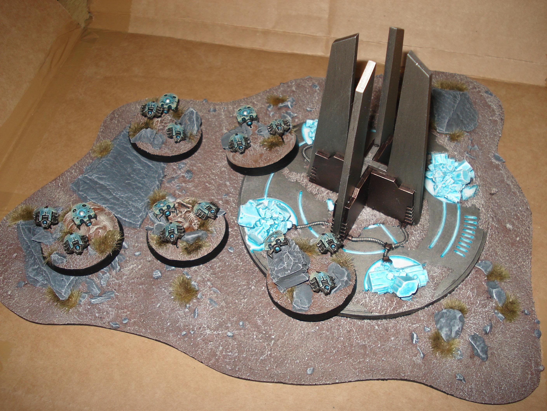 Crystal Tech, Necrons, Terrain