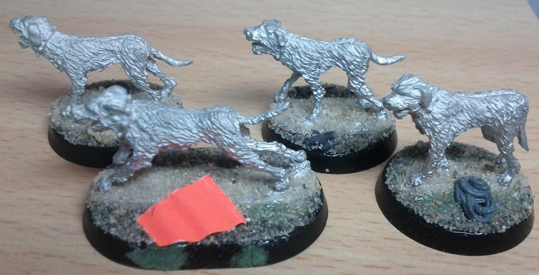 Eureka Raider Dogs WIP