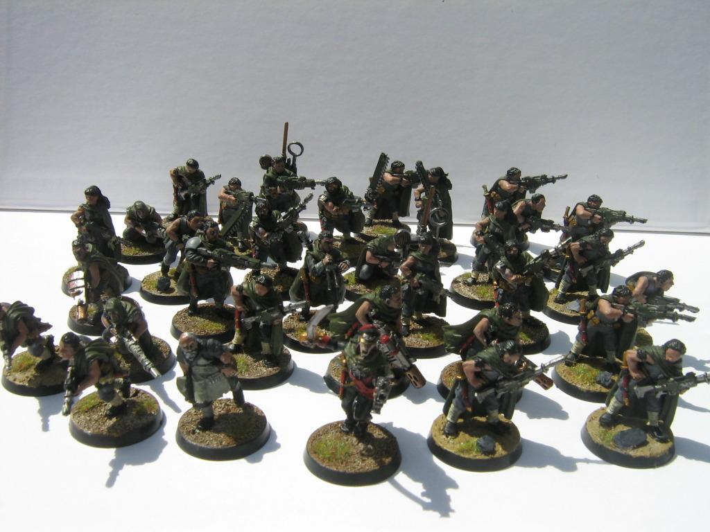 1st And Only, Gaunt%27s Ghosts, Gaunt's Ghosts, Tanith, Valkyrie Miniatures