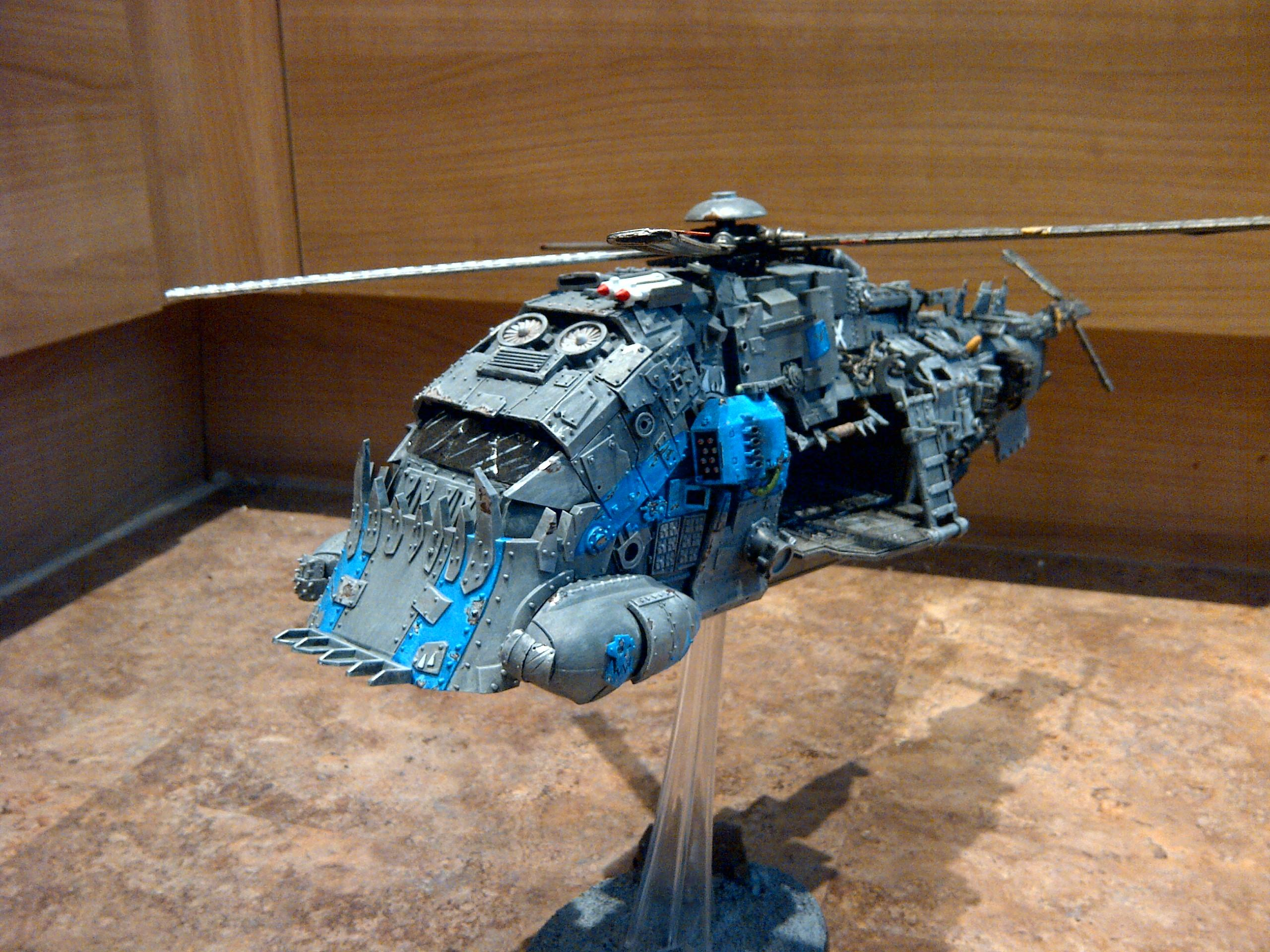 Flyer, Gears Of War, Helicopter, Orks, Stompa, Waaaaa