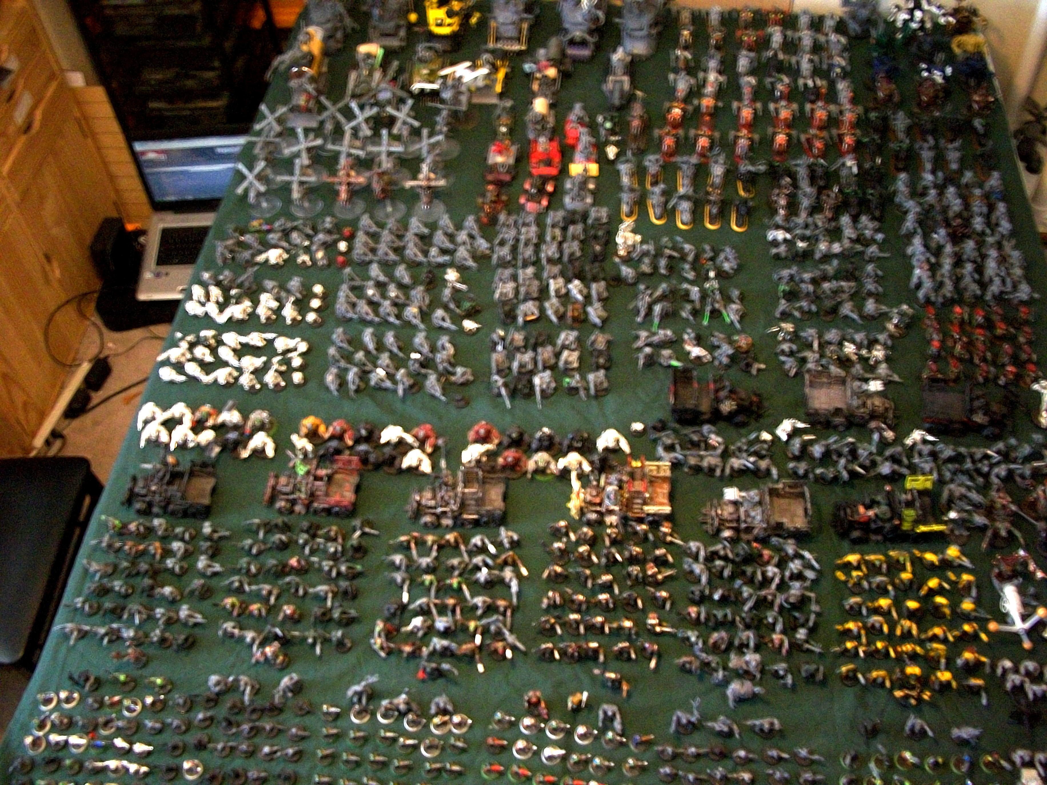 Army, Huge, Orks, Unpainted