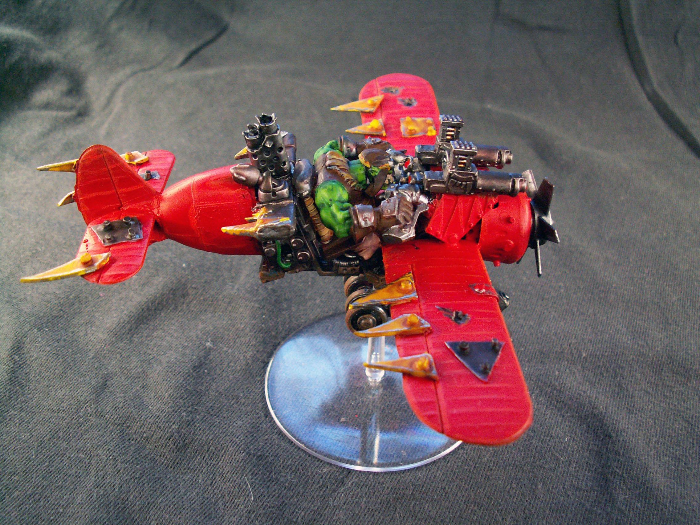 Deffkopta, Orks, Scratch Build, Warhammer 40,000