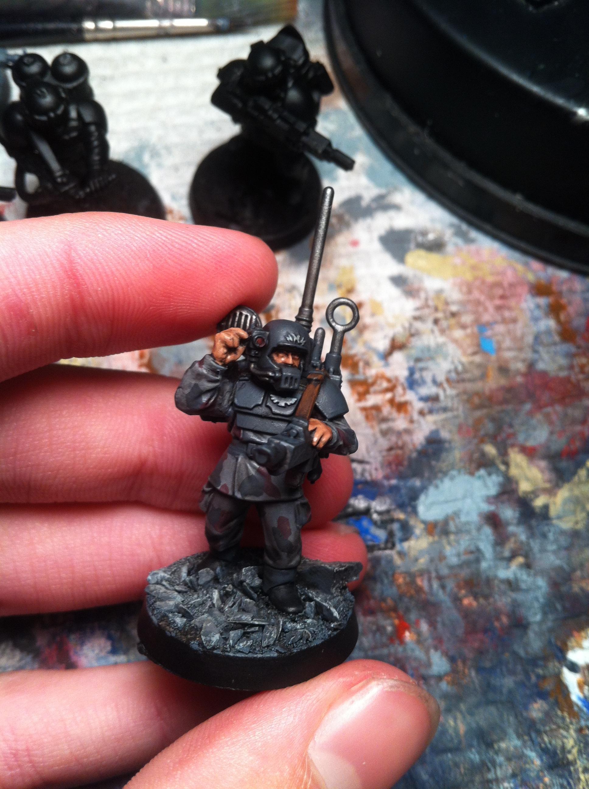 Guard, Imperial, Radio, Work In Progress