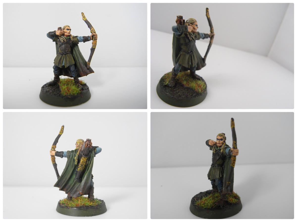 Archers, Highlights, Legolas, Lord Of The Rings, Painting, Weathered