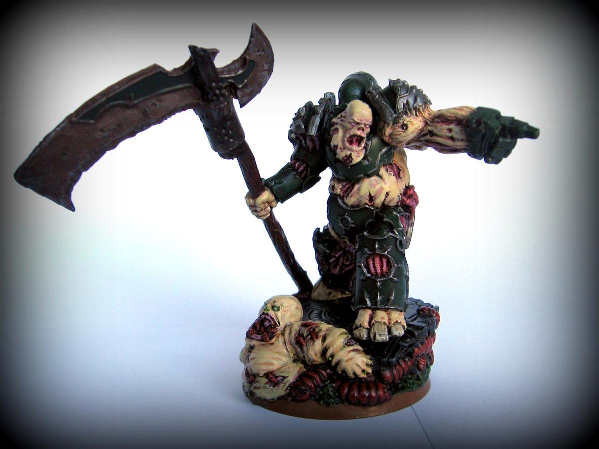 Chaos, Lord, Nurgle, Scibor Rotten Lord