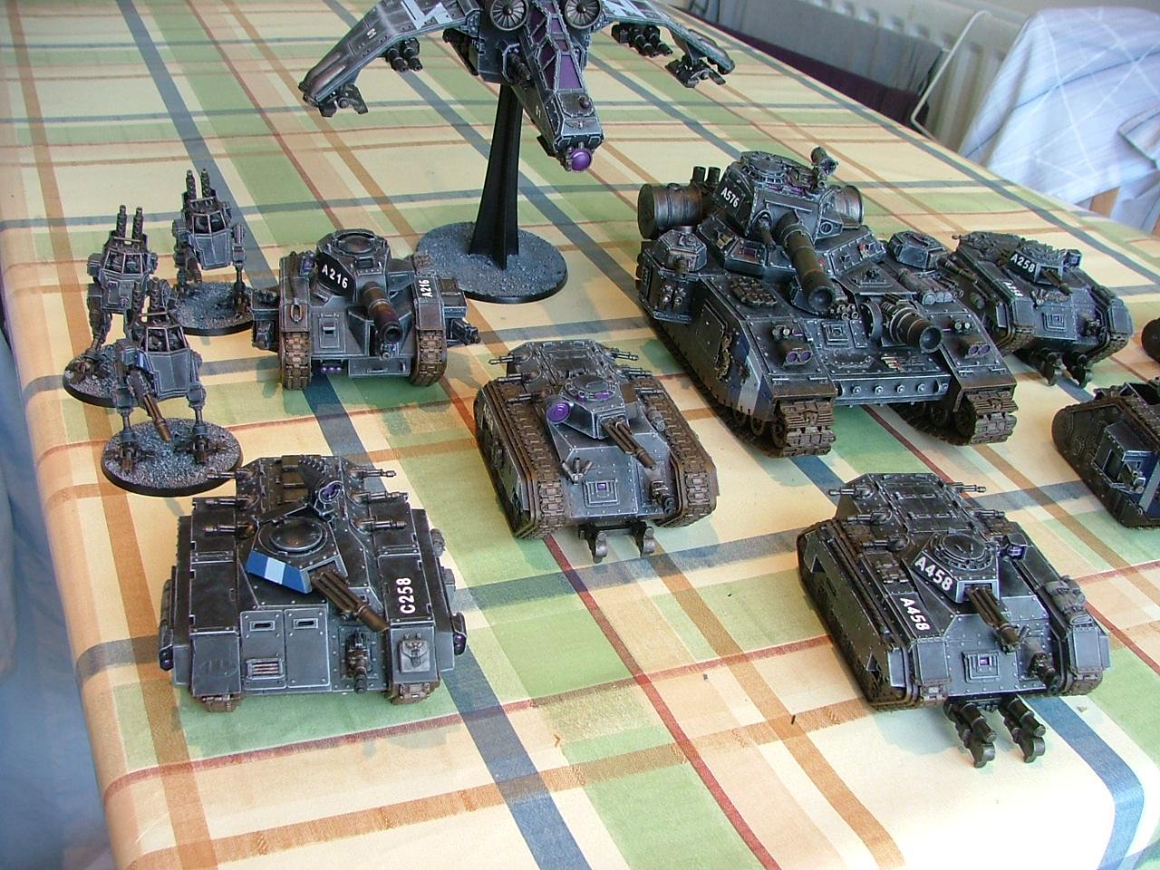 Baneblade, Chimera, Imperial Guard, Valkyrie