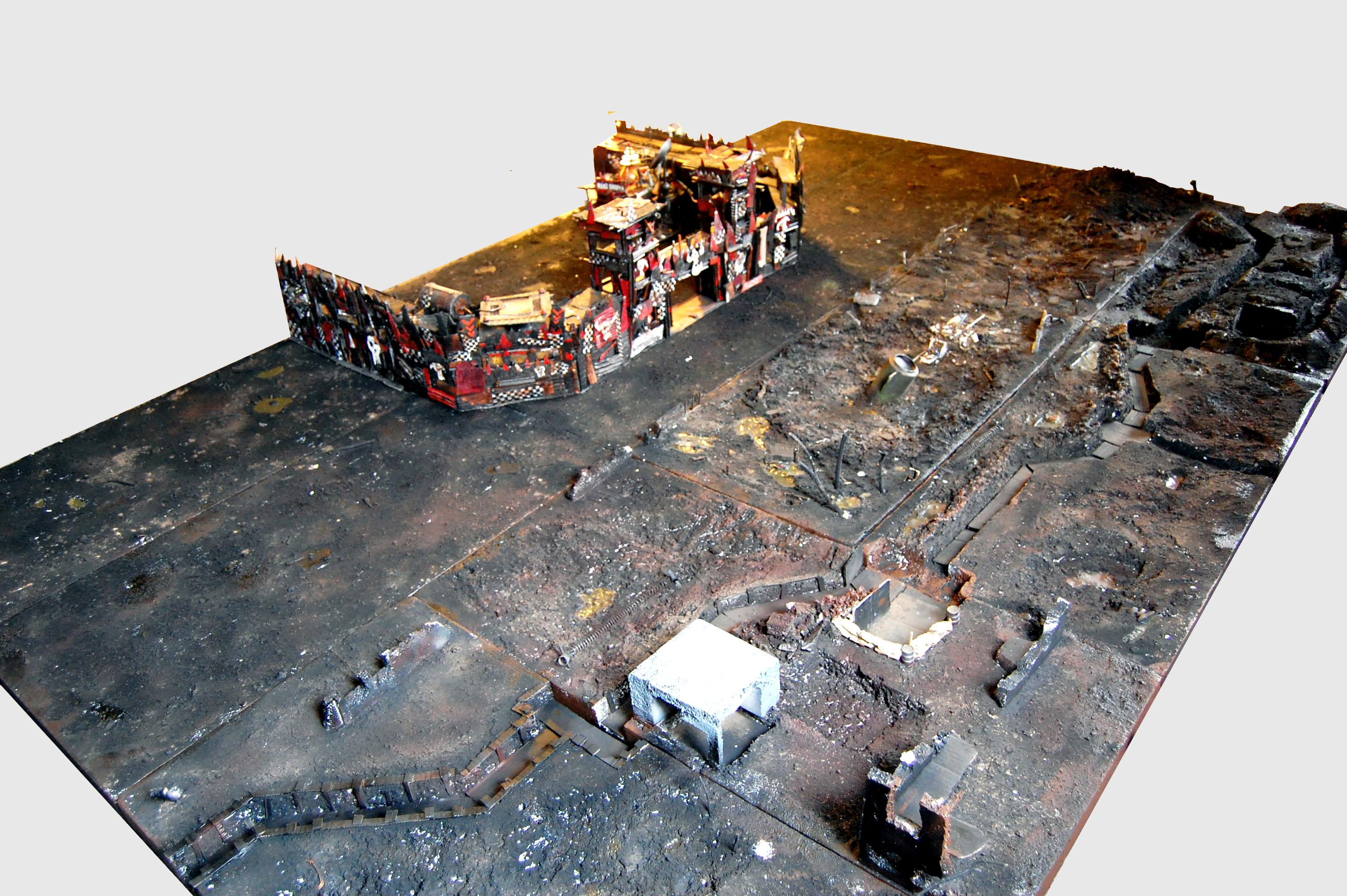 Game Table, Terrain, Trenches