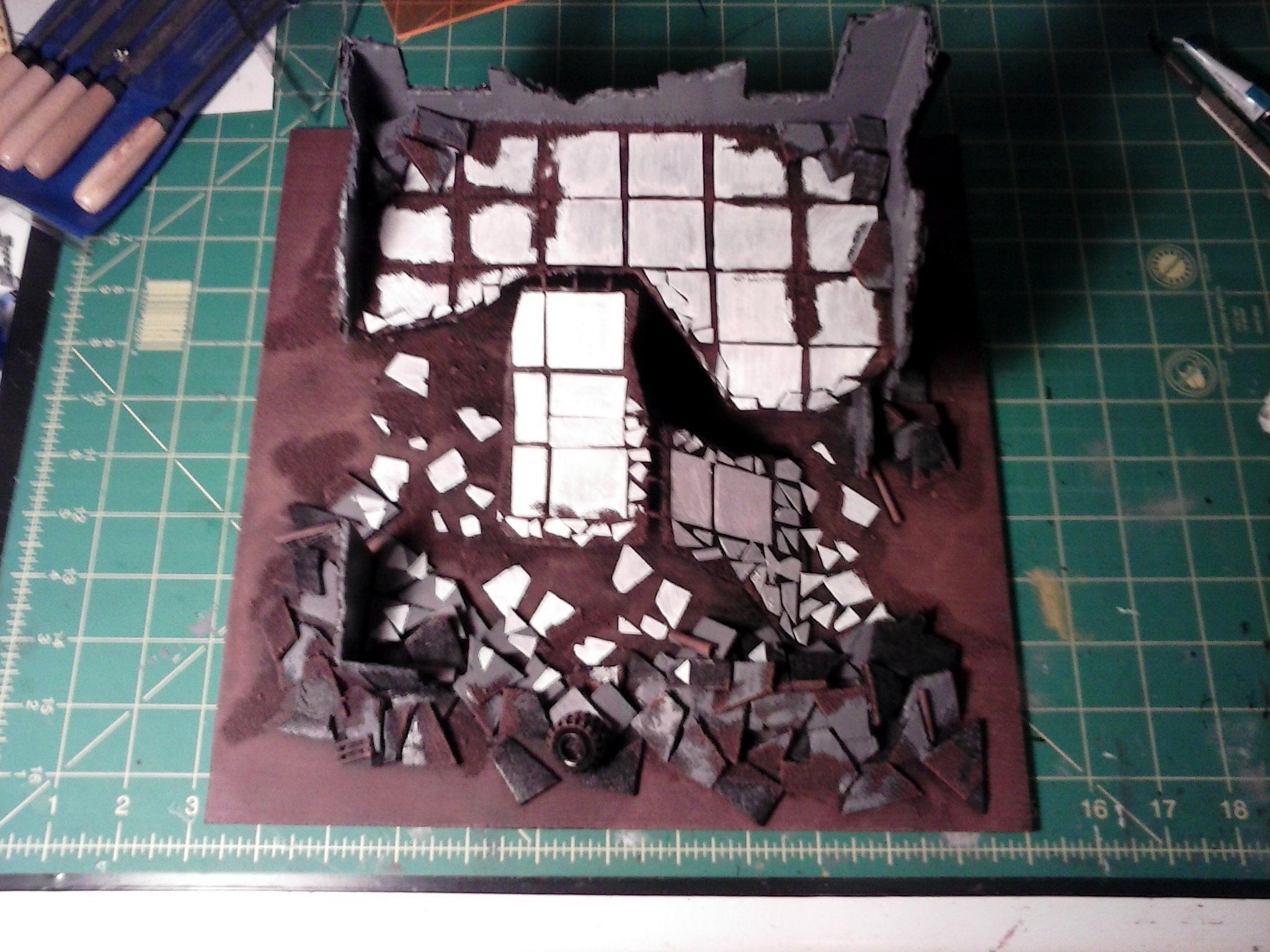 Terrain, Ruined building