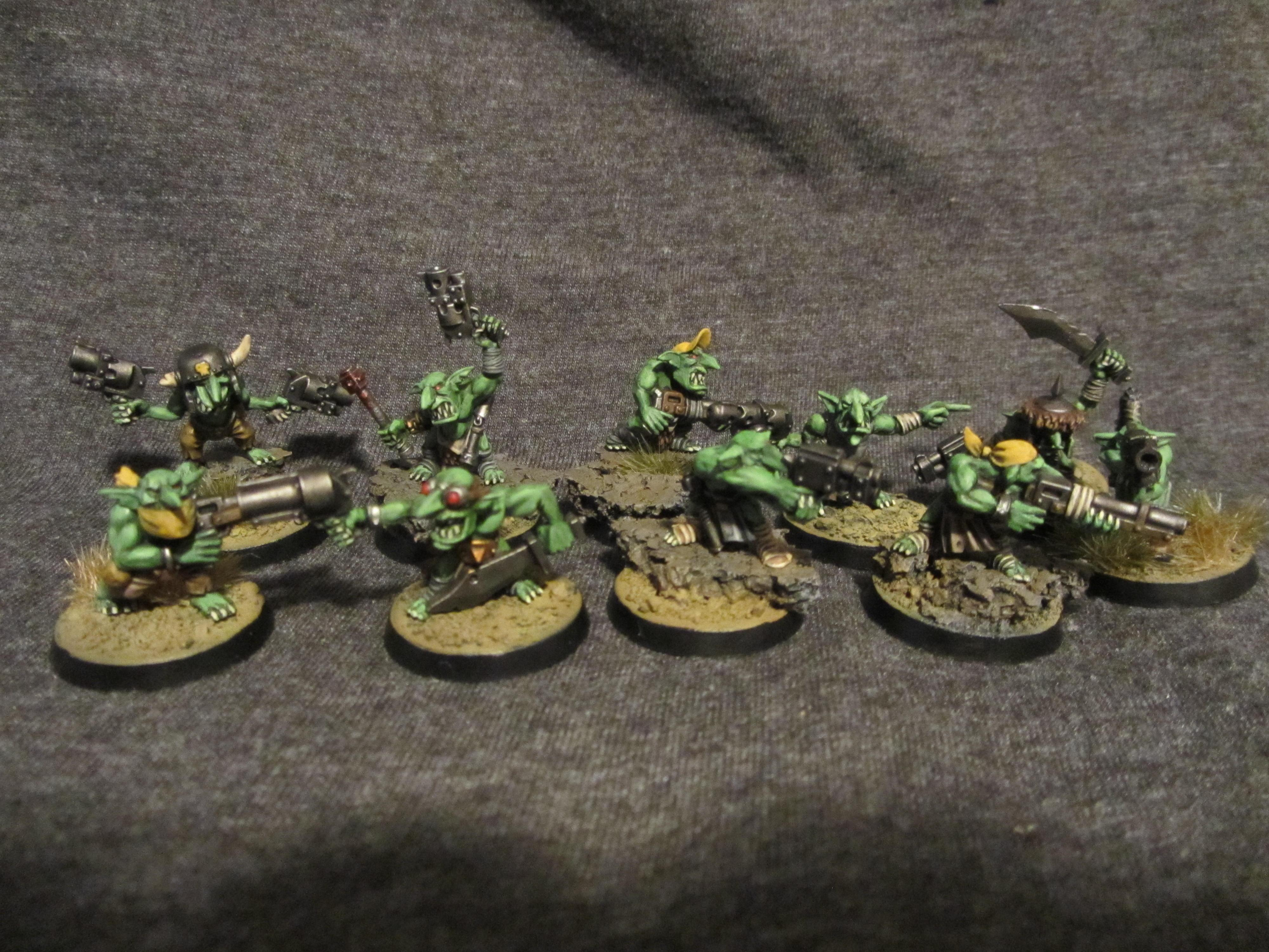 Gretchin, Grots, Orks, Warhammer 40,000