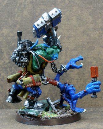 Orks, Warboss, Warhammer 40,000, Work In Progress