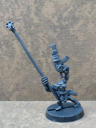 Banner, Orks, Warhammer 40,000, Work In Progress