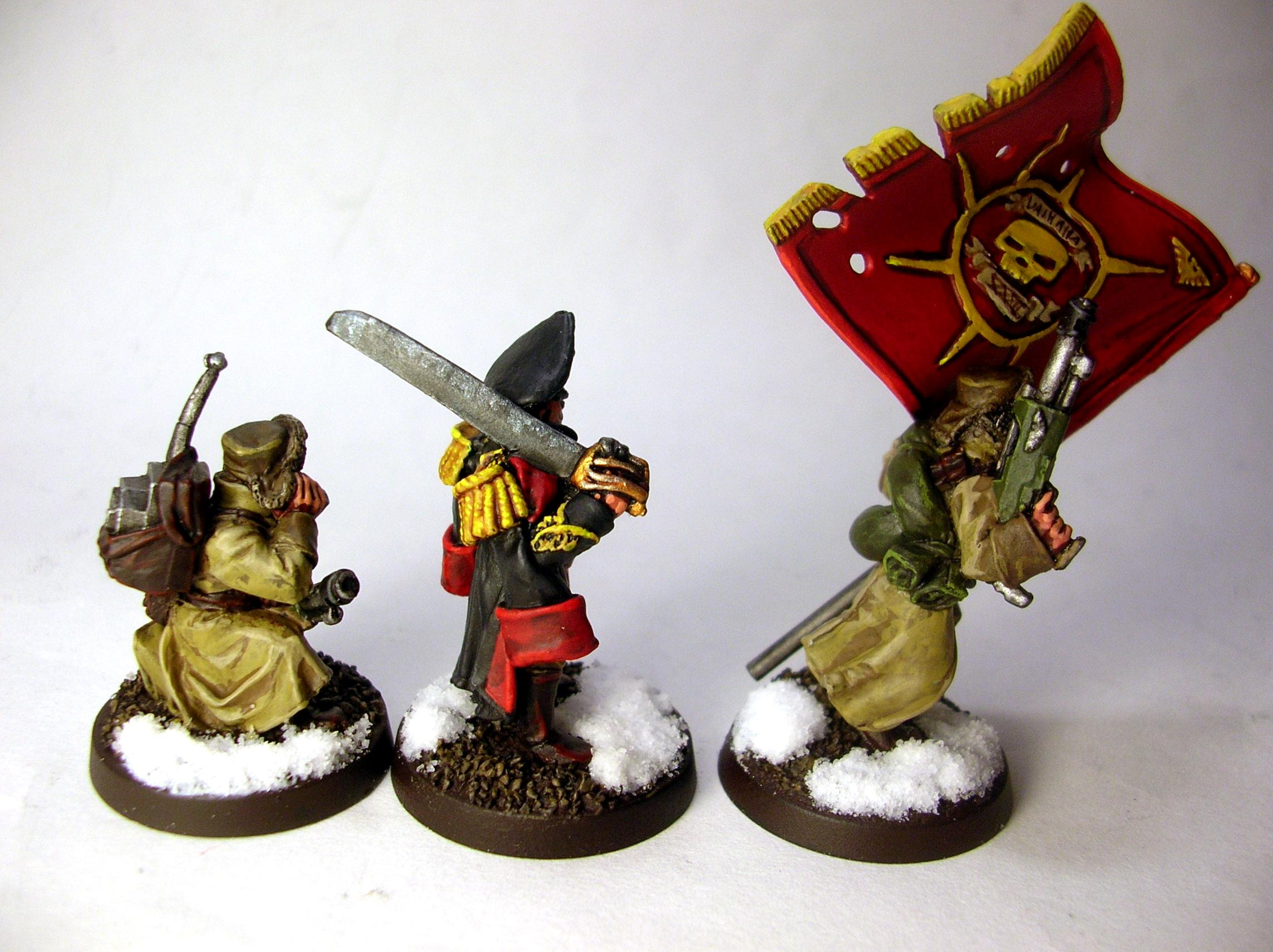 Imperial Guard, Russians, Valhallans, Warhammer 40,000
