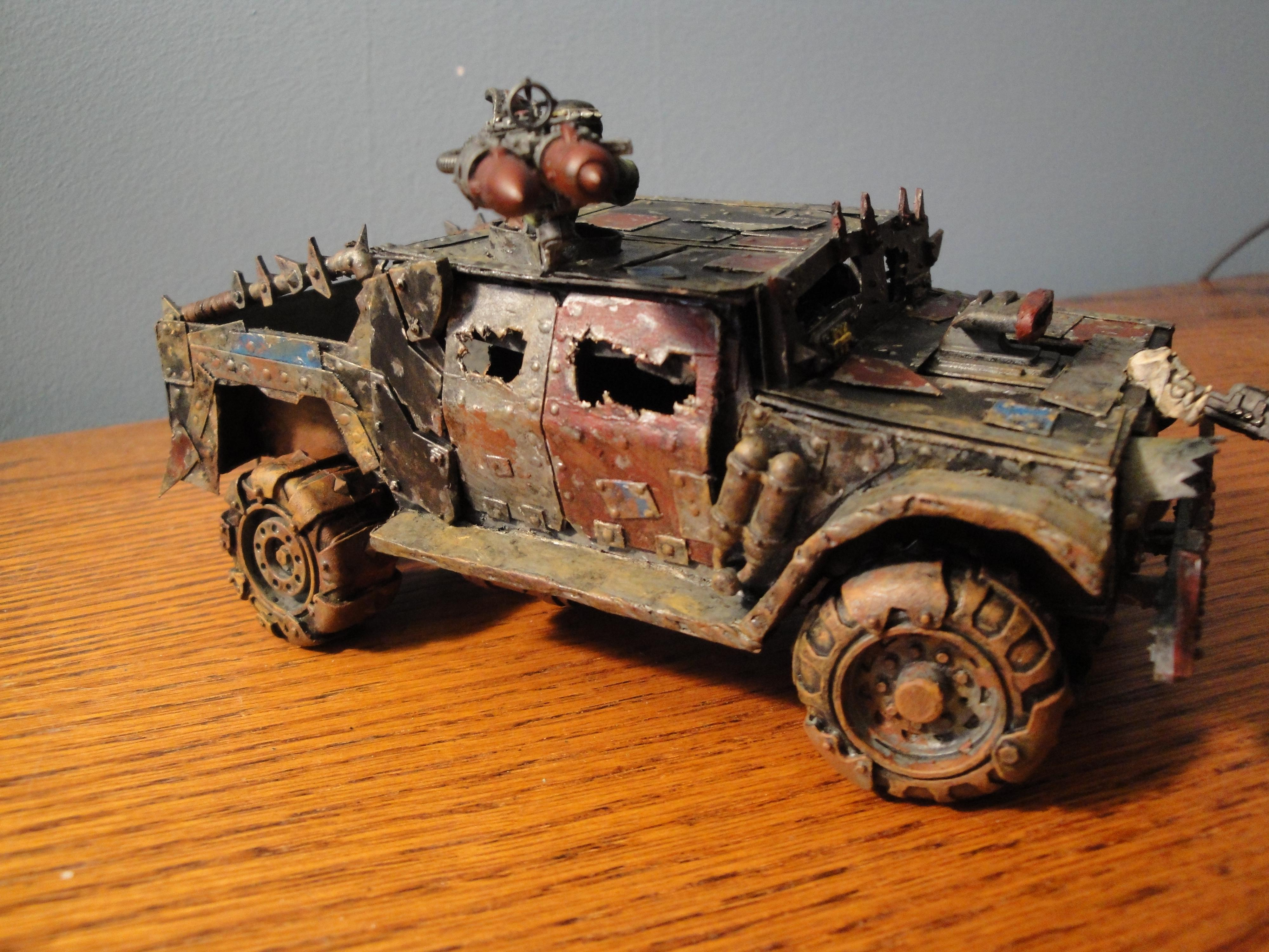 Buggy, Orks, Scratch Build, Warbuggies