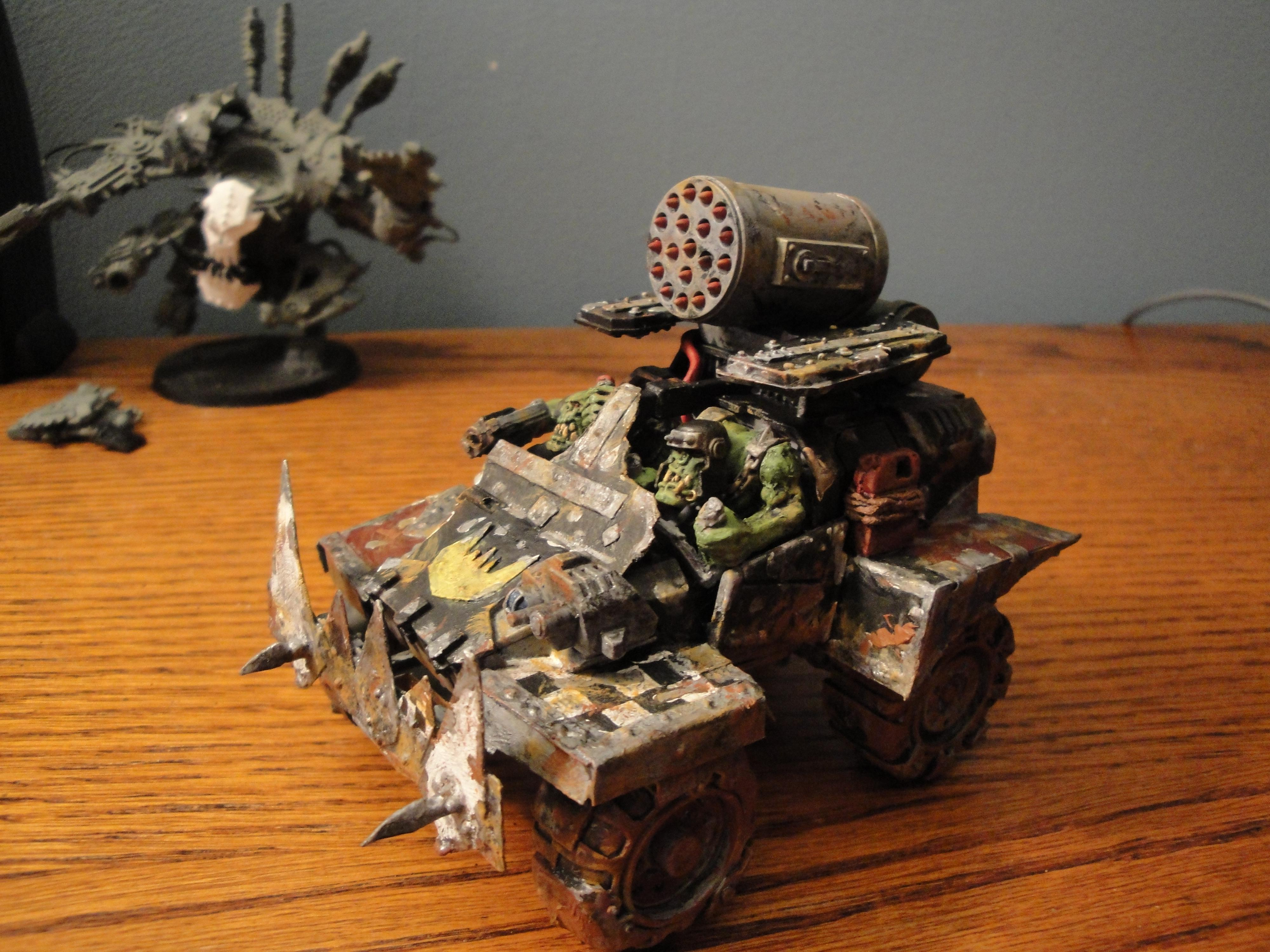 Land Speeder, Looted, Marine Abuse, Orks, Warbuggy