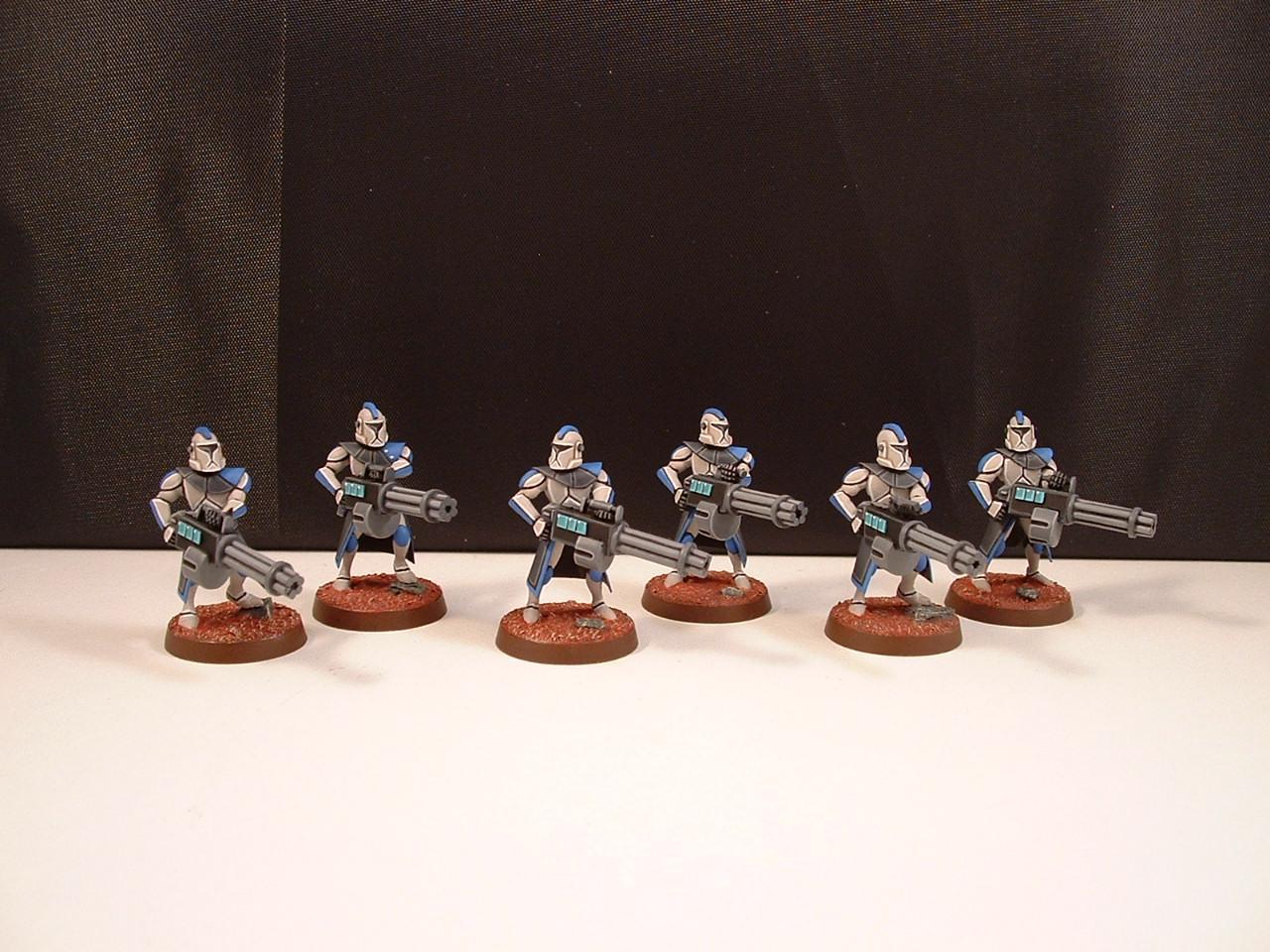 Clone Troopers, Clone Wars, Homebrew, Scratch Build, Star Wars