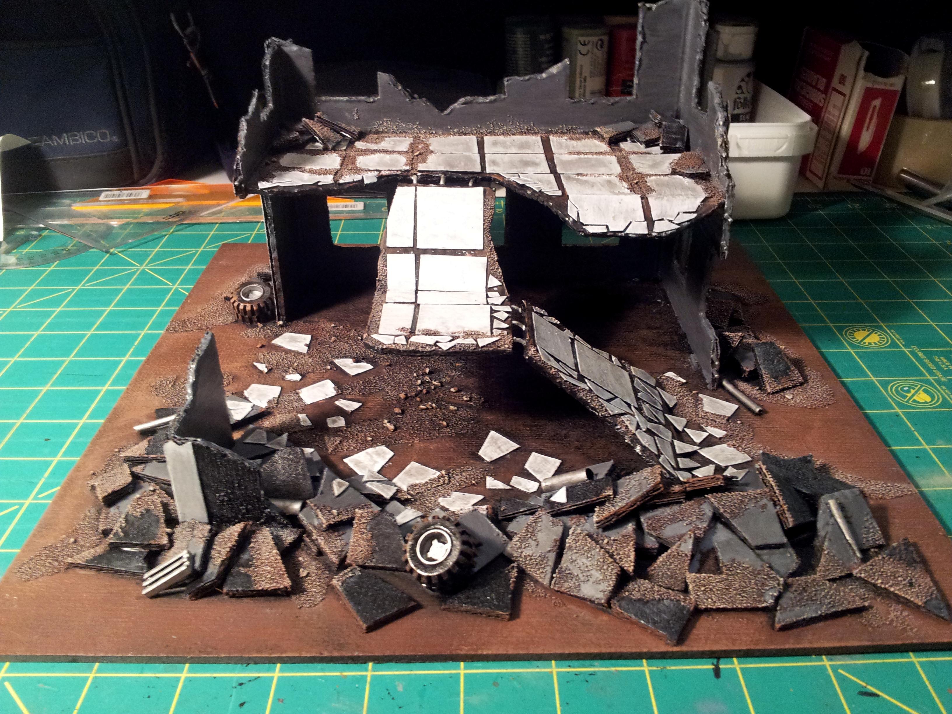 Buildings, Ruined, Terrain, Work In Progress