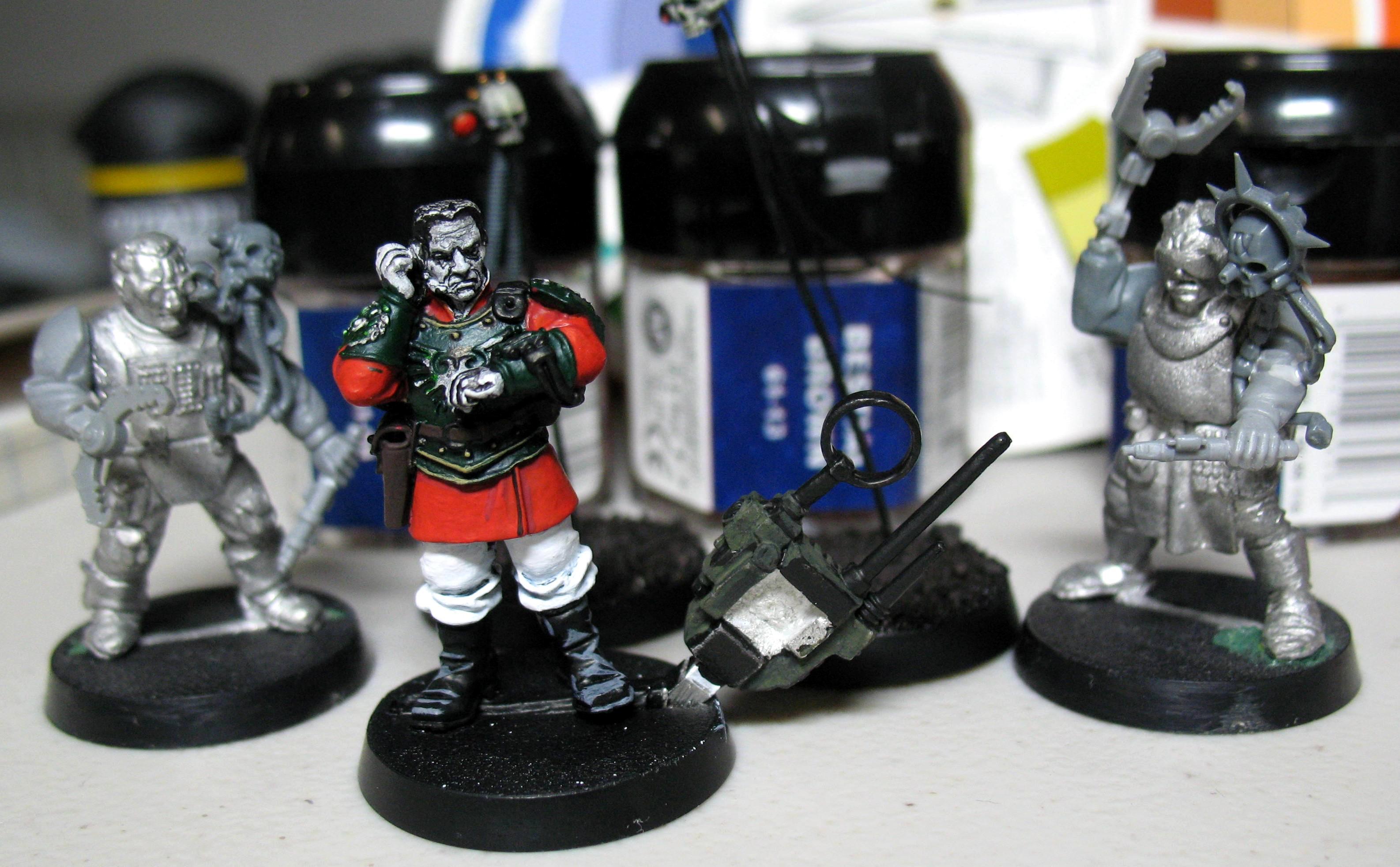 Advisor, Cadians, Imperial Guard, Master Of Ordnance, Warhammer 40,000, Work In Progress