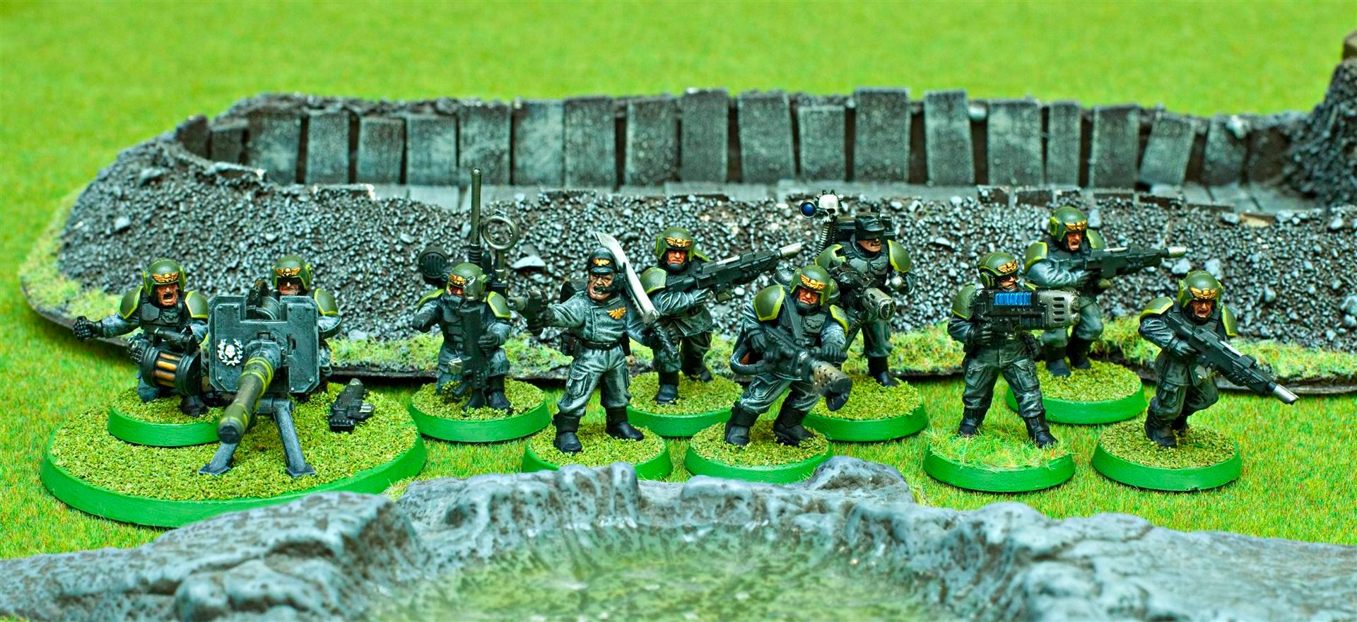 Apocalypse, Army, Astra Militarum, Autocannon, Flamer, Gaming Mat, Green, Grey, Guard, Imperial, Imperial Guard, Imperials, Plasma, Sgt, Troop Choice, Troops, Vet Squad, Veteran, Veteran Squad