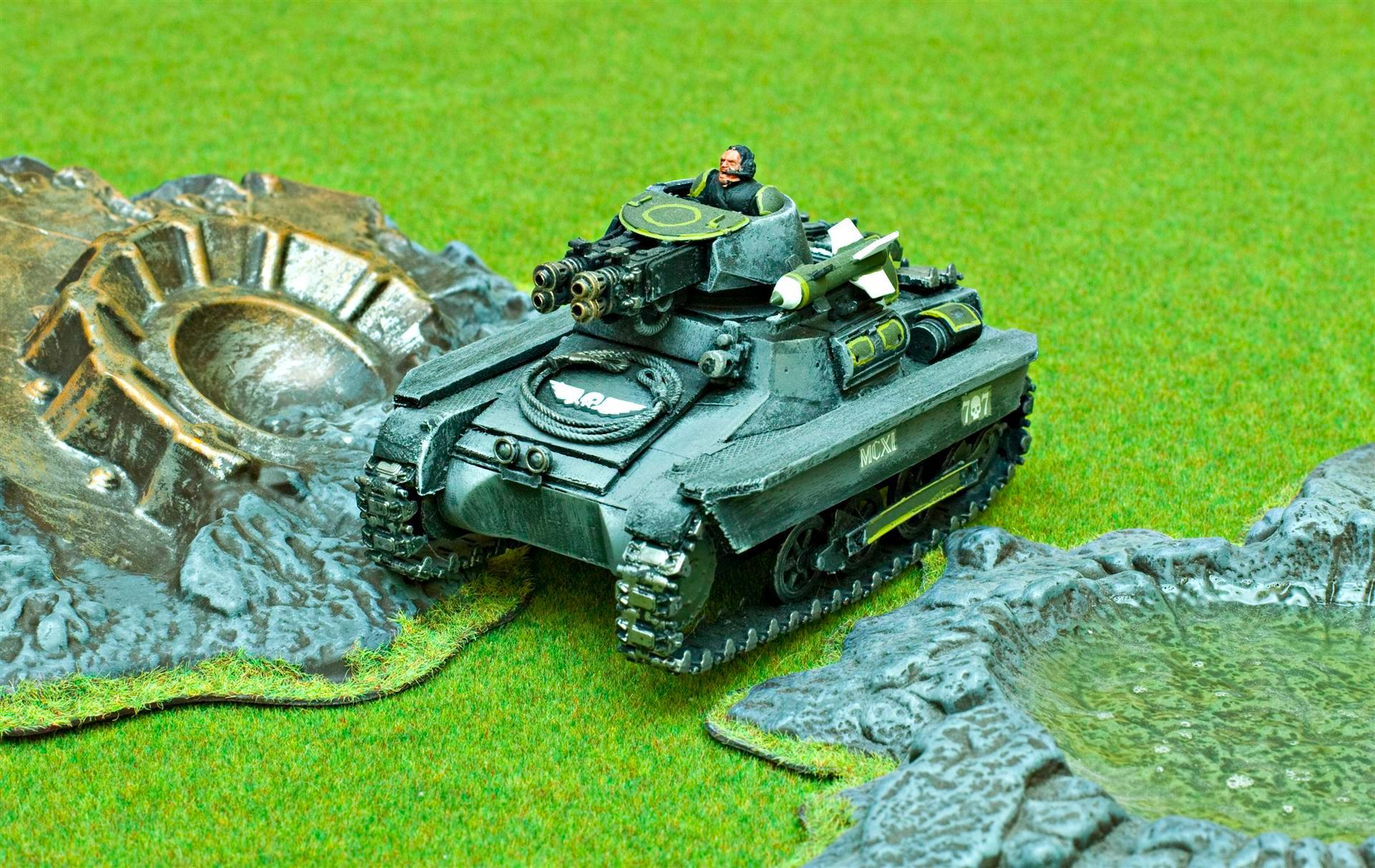 Apocalypse, Army, Count As, Flamer, Gaming Mat, Green, Grey, Guard, Heavy Flamer, Hellhound, Hunter Killer, Imperial, Imperial Guard, Imperials, Tank, Tread, Vdr
