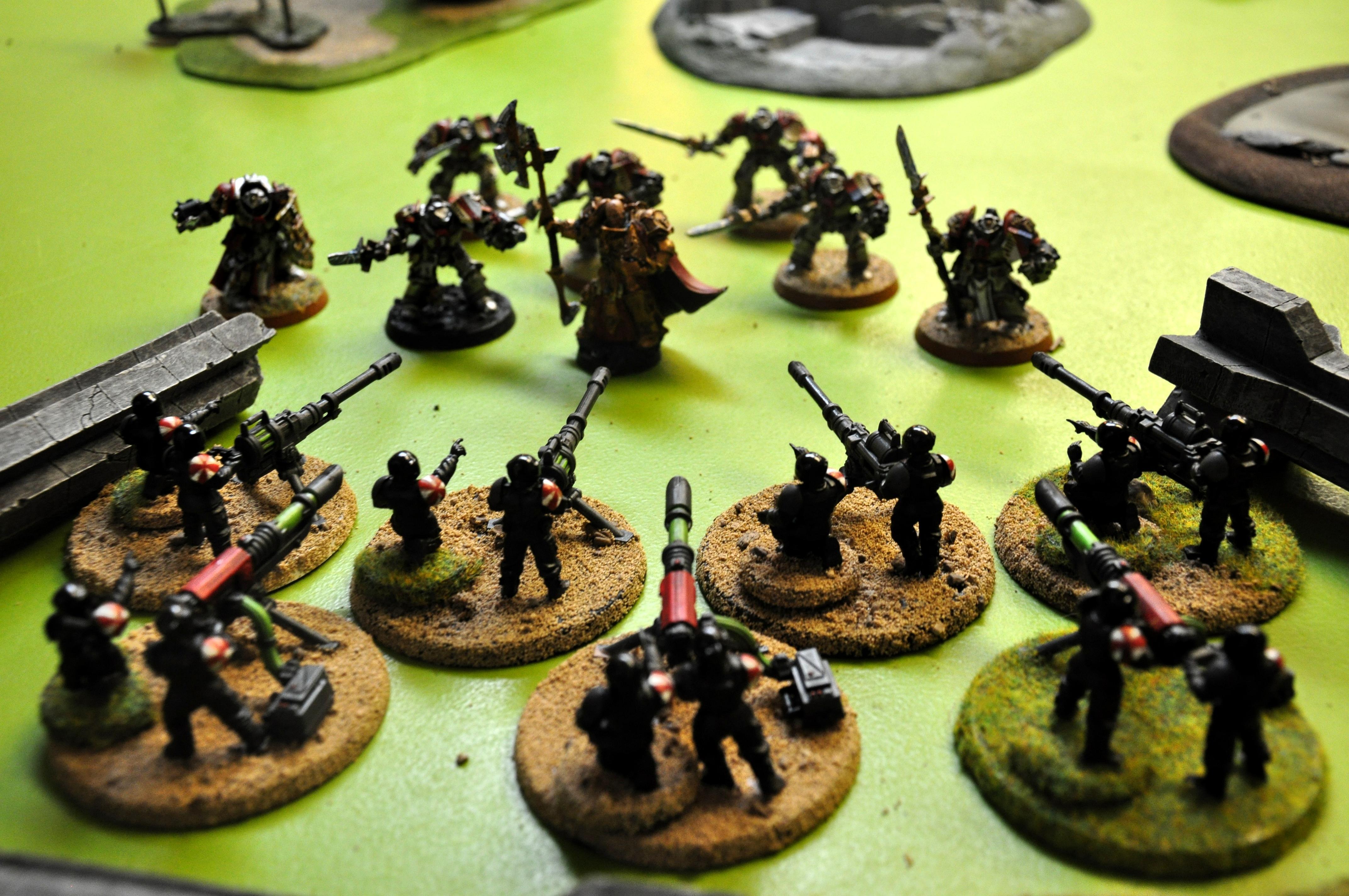 Apocalypse, Chaos, Death Guard, Dreadclaw, Guard, Heavy Weapons Team, Hwt, Imperial Guard, Medusa, Ogryns, Plague Marines, Reaver, Renegade, Resident Evil, Titan, Traitor, Umbrella, Zombie