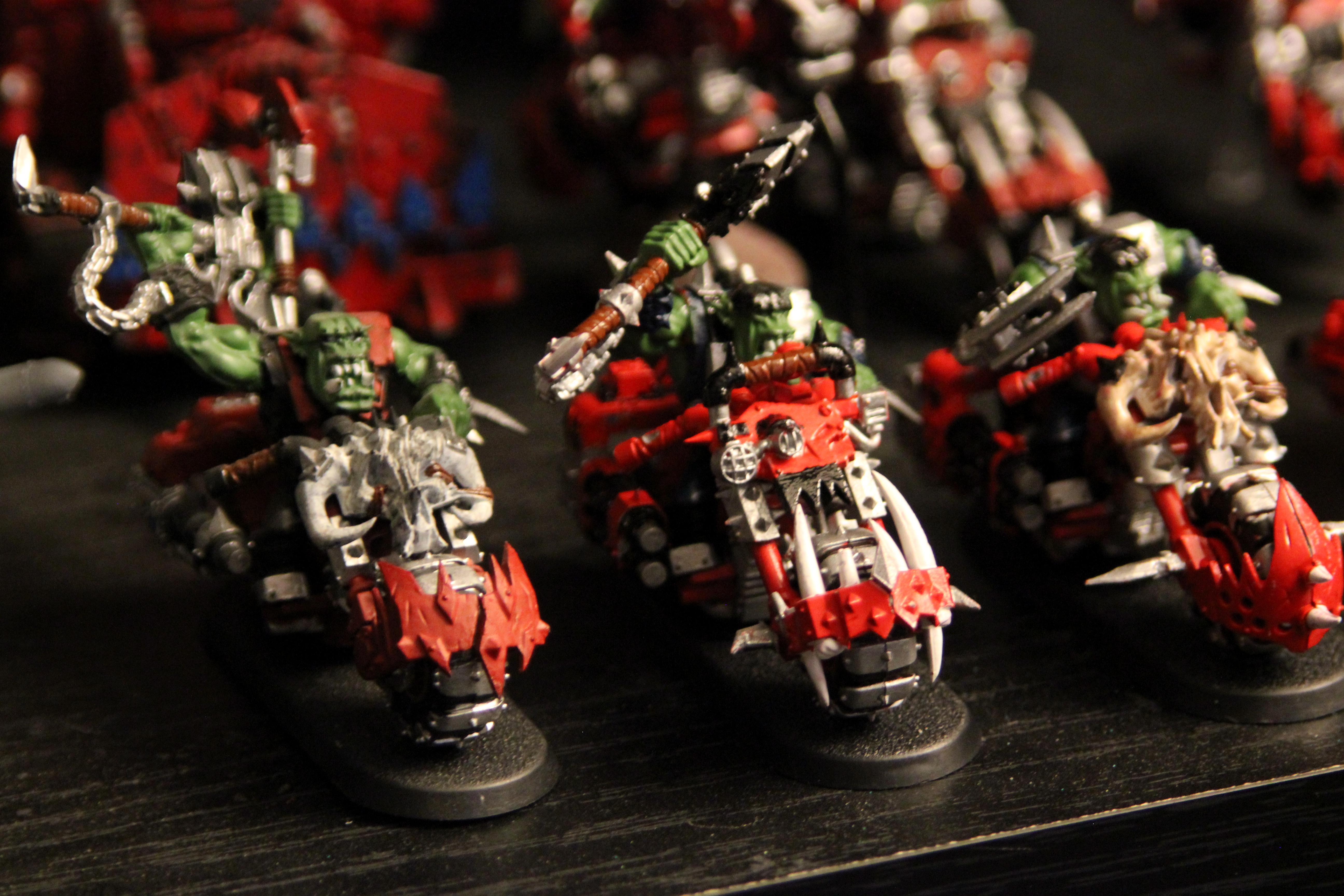 Bike, Nob, Orks, Warbikers, Warhammer 40,000