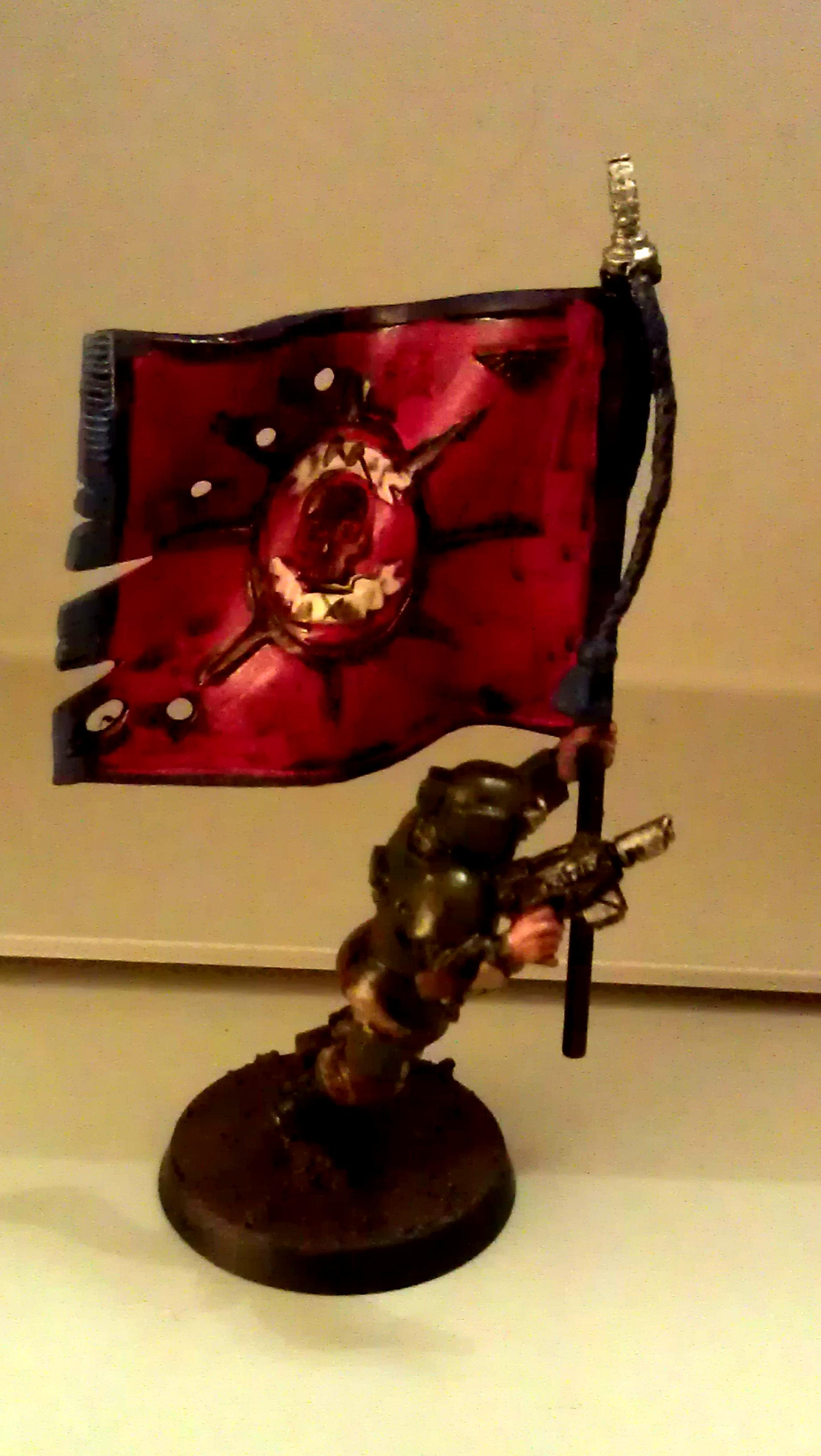Banner, Guard, Imperial, Imperial Guard, Squad, Standard