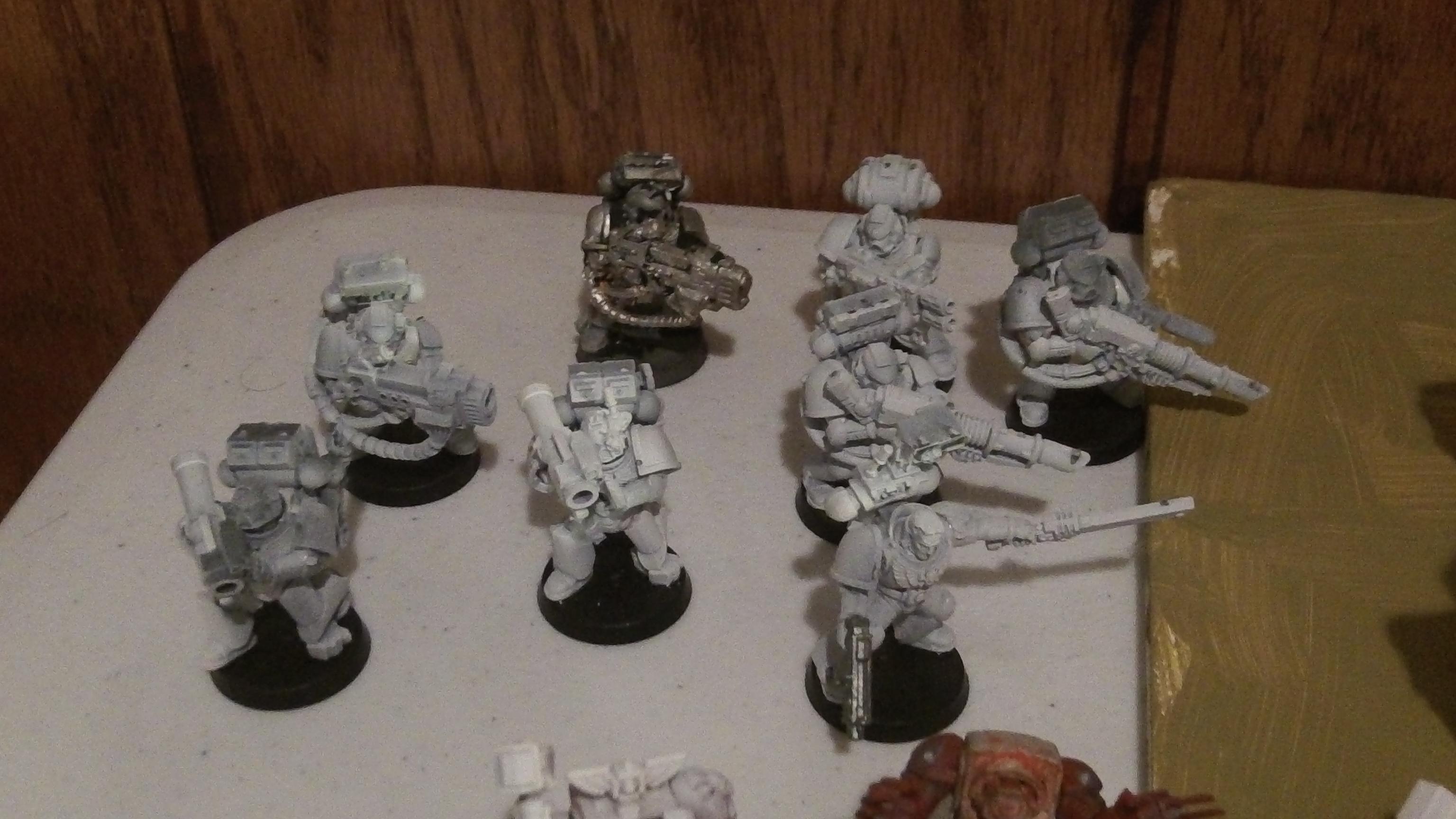 Unpainted Devistator Squad