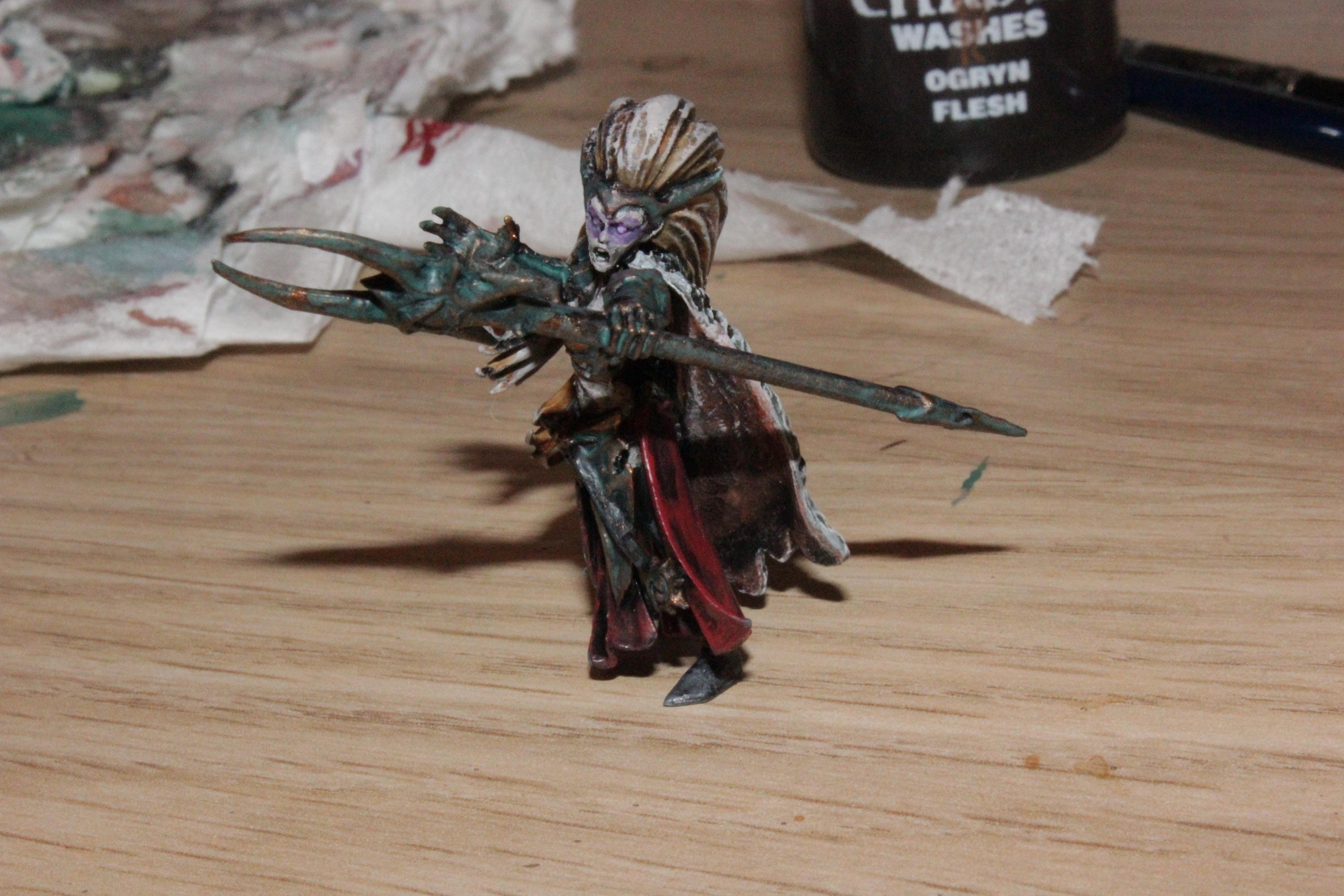 Chaos, Dark Elves, Sorceress, Sorceror, Sorceror Lord, Warhammer Fantasy