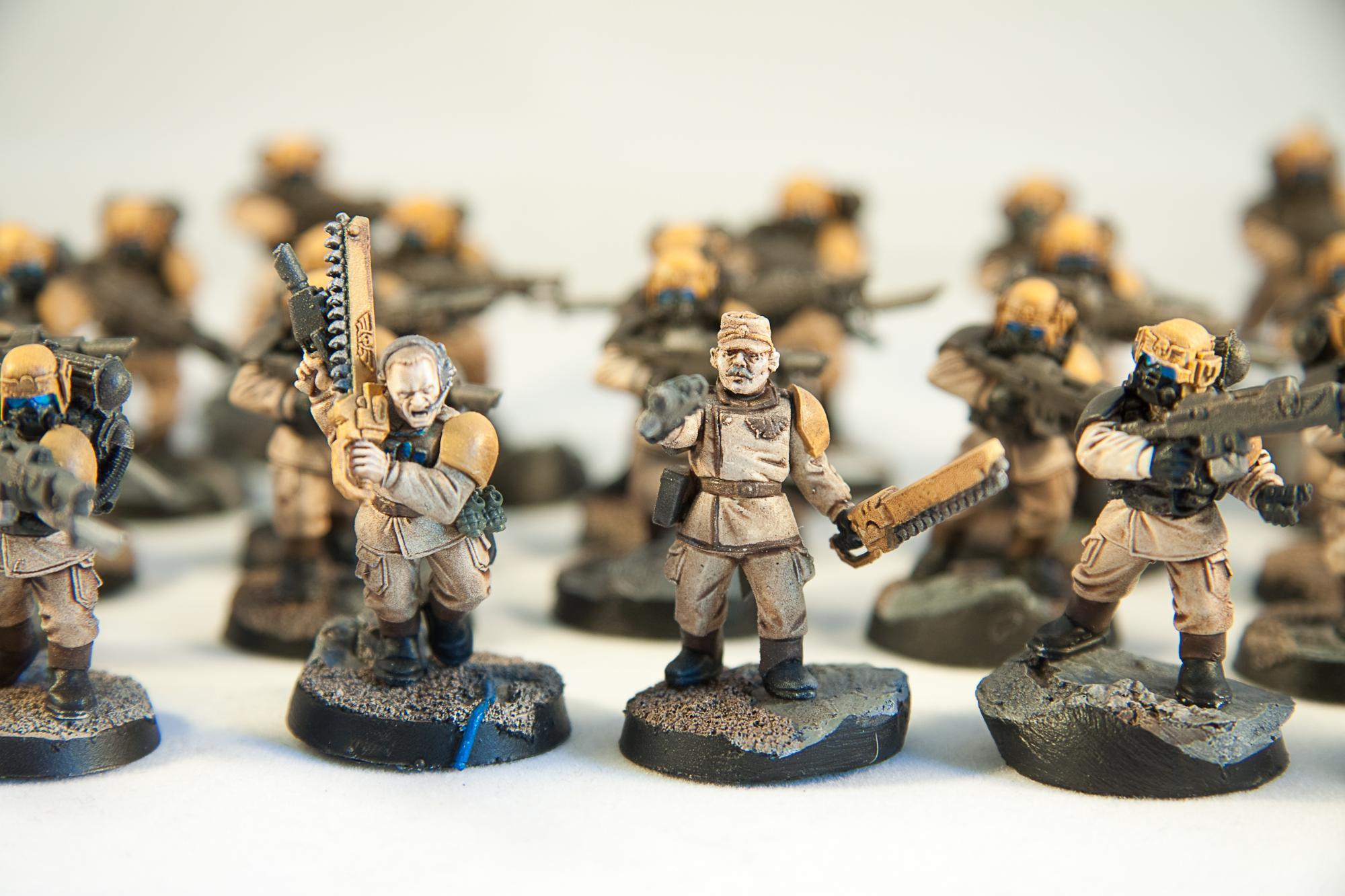 Imperial Guard, Infantry, Platoon