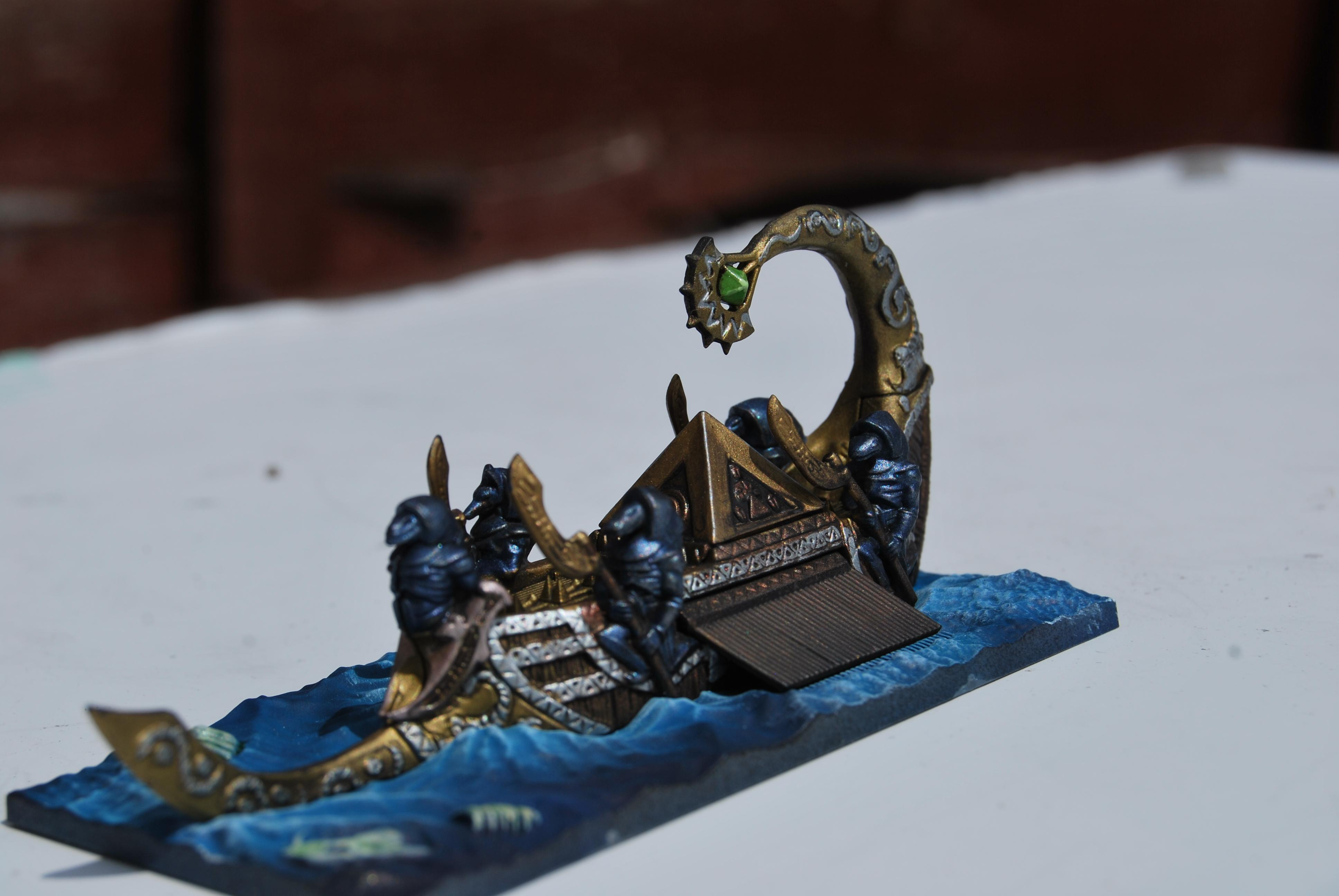 Dreadfleet, Egypt, Ship, Tomb Kings