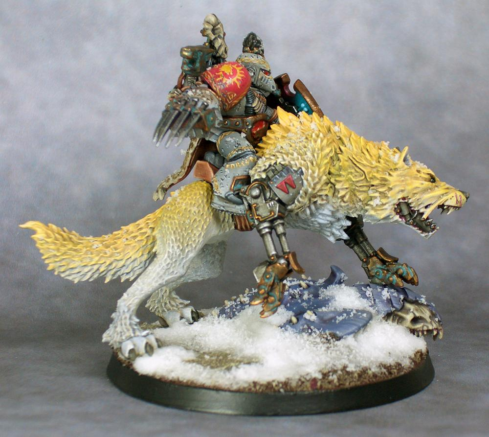 Space Marines, Space Wolves, Thunderwolf, Wolf Lord