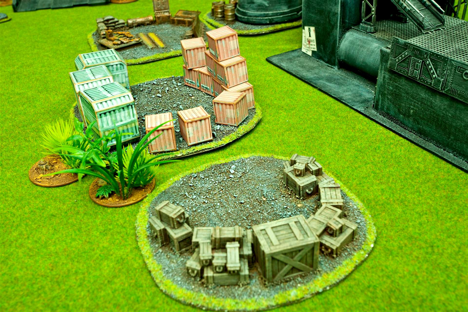 Crates, Los Blockers, Terrain