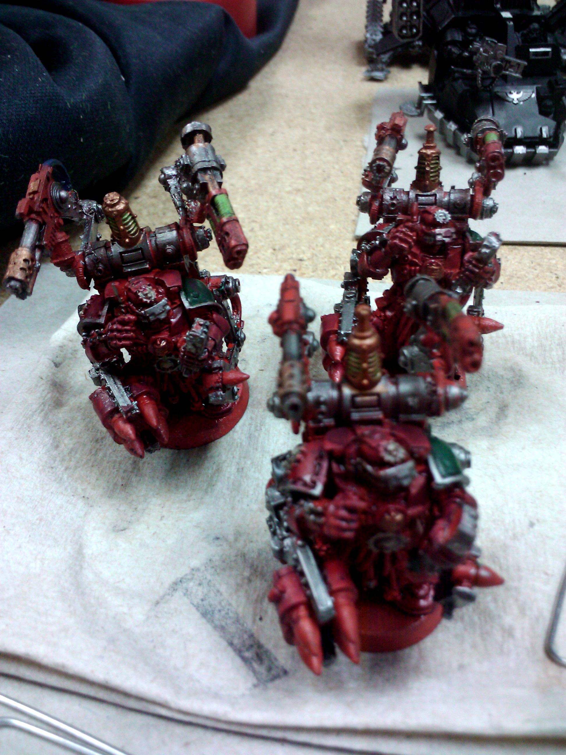 Commission, Dark Angels, Games Workshop, Painting, Scouts, Space Marines, Techmarine, Thunderfire, Warhammer 40,000