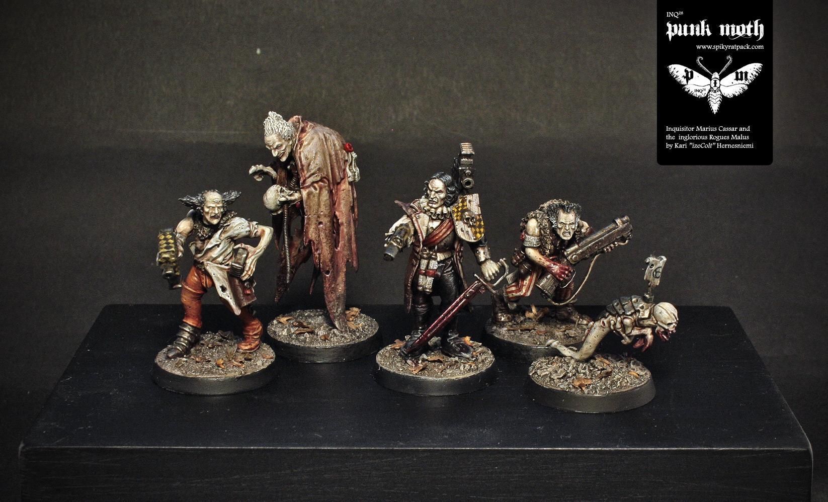 Inq28, Inquisitor, Spiky Rat Pack, Warhammer 40,000