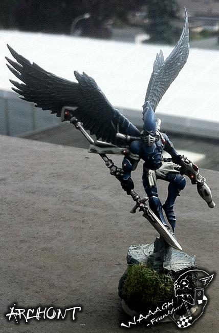 Autarch, Corsairs, Eldar, Winged