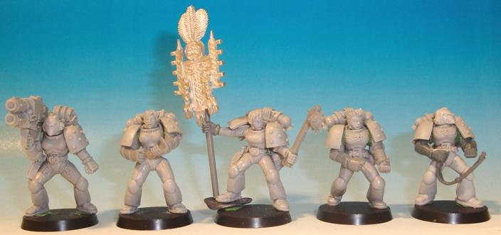 Female, Space Marines, Space Sharks