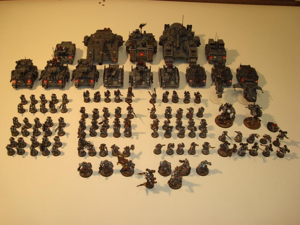 Army, Conversion, Rogue Trader, Space Marines, Space Sharks