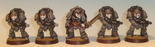 Rogue Trader, Space Marines, Space Sharks, Veteran