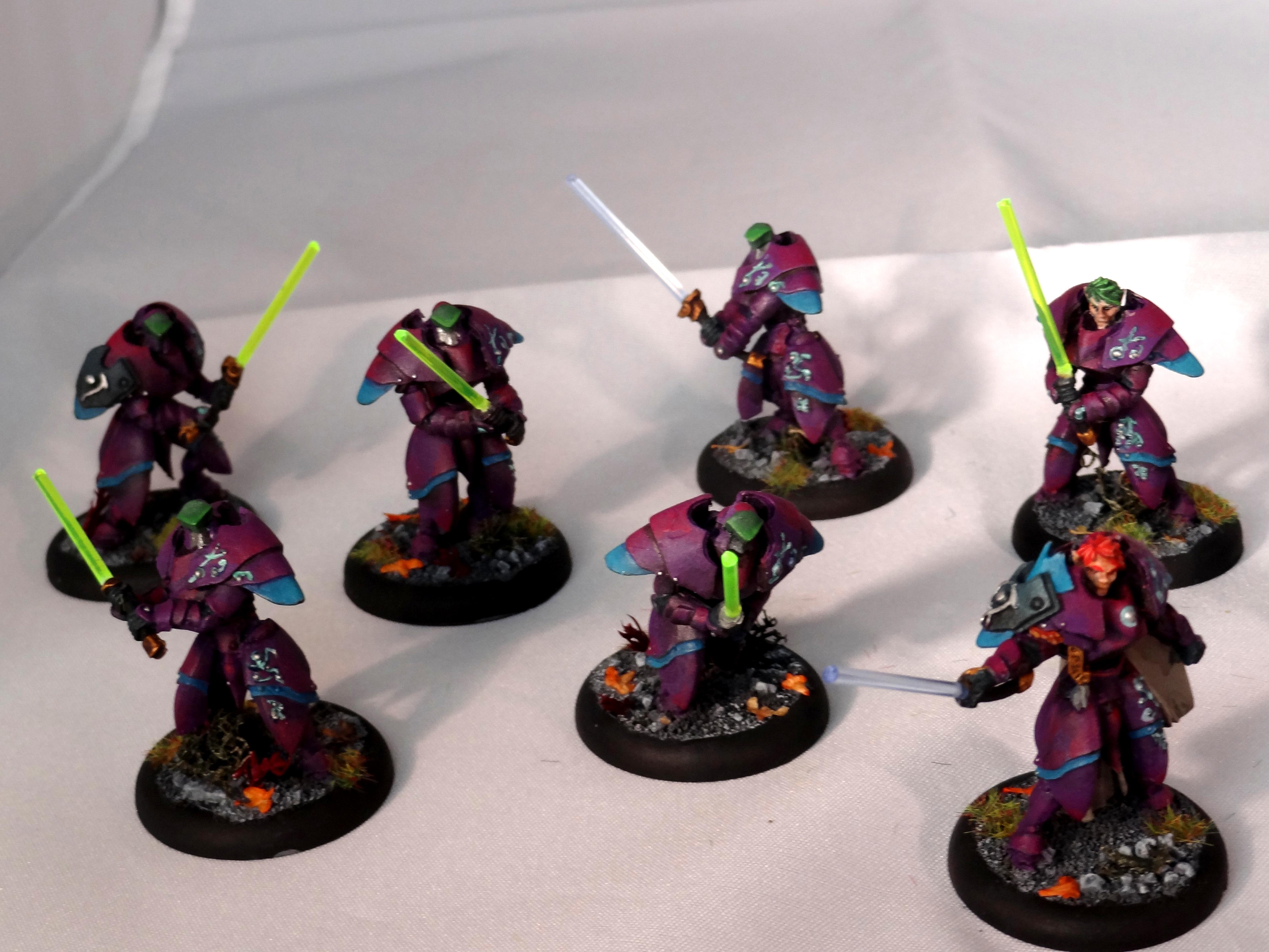 Jedi, Lightsabers, Retribution Of Scyrah, Sentinel