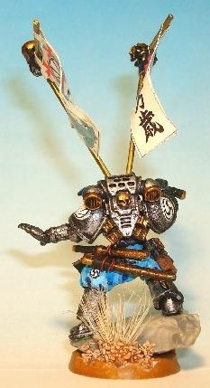 Champion Of The Emperor, Conversion, Japanese, Ronin, Samurai, Space Marines
