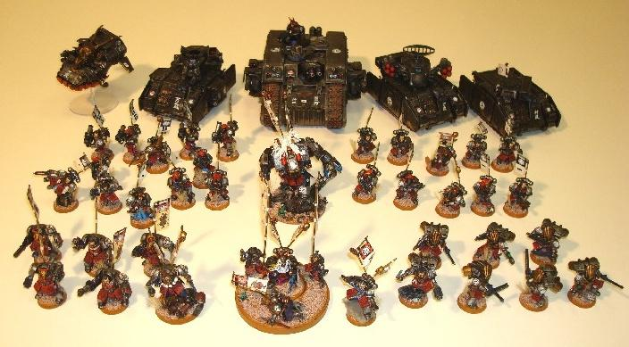 Army, Conversion, Japanese, Ronin, Samurai, Space Marines
