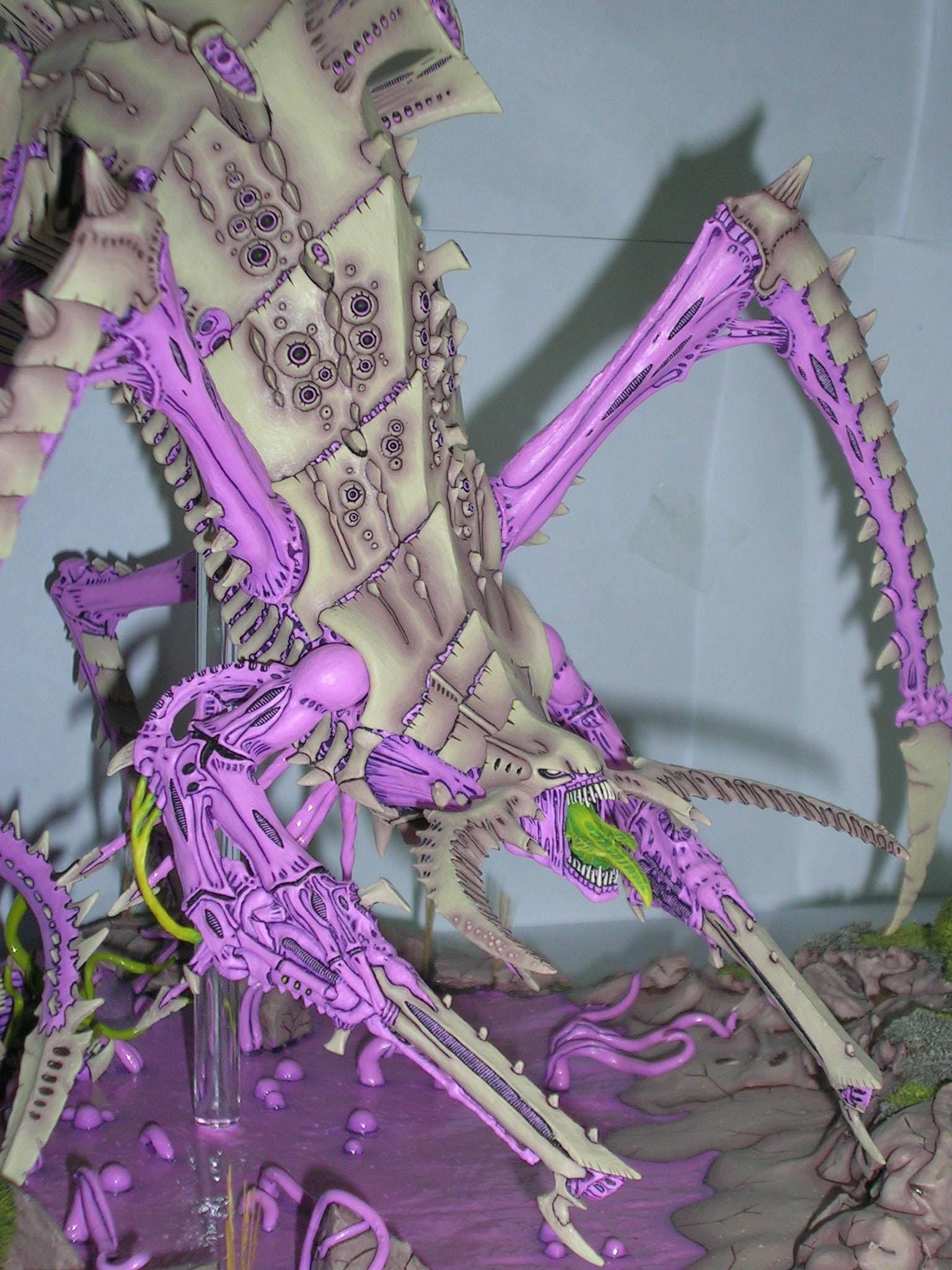 Bio-titan, Nids, Pink, Tyranids