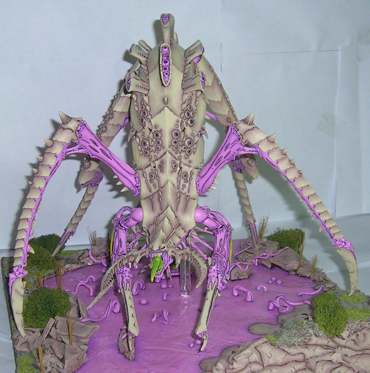 Bio-titan, Bone, Forge World, Monster, Nard, Pink, Titan, Tyranids, Warhammer 40,000, Warhammer Fantasy