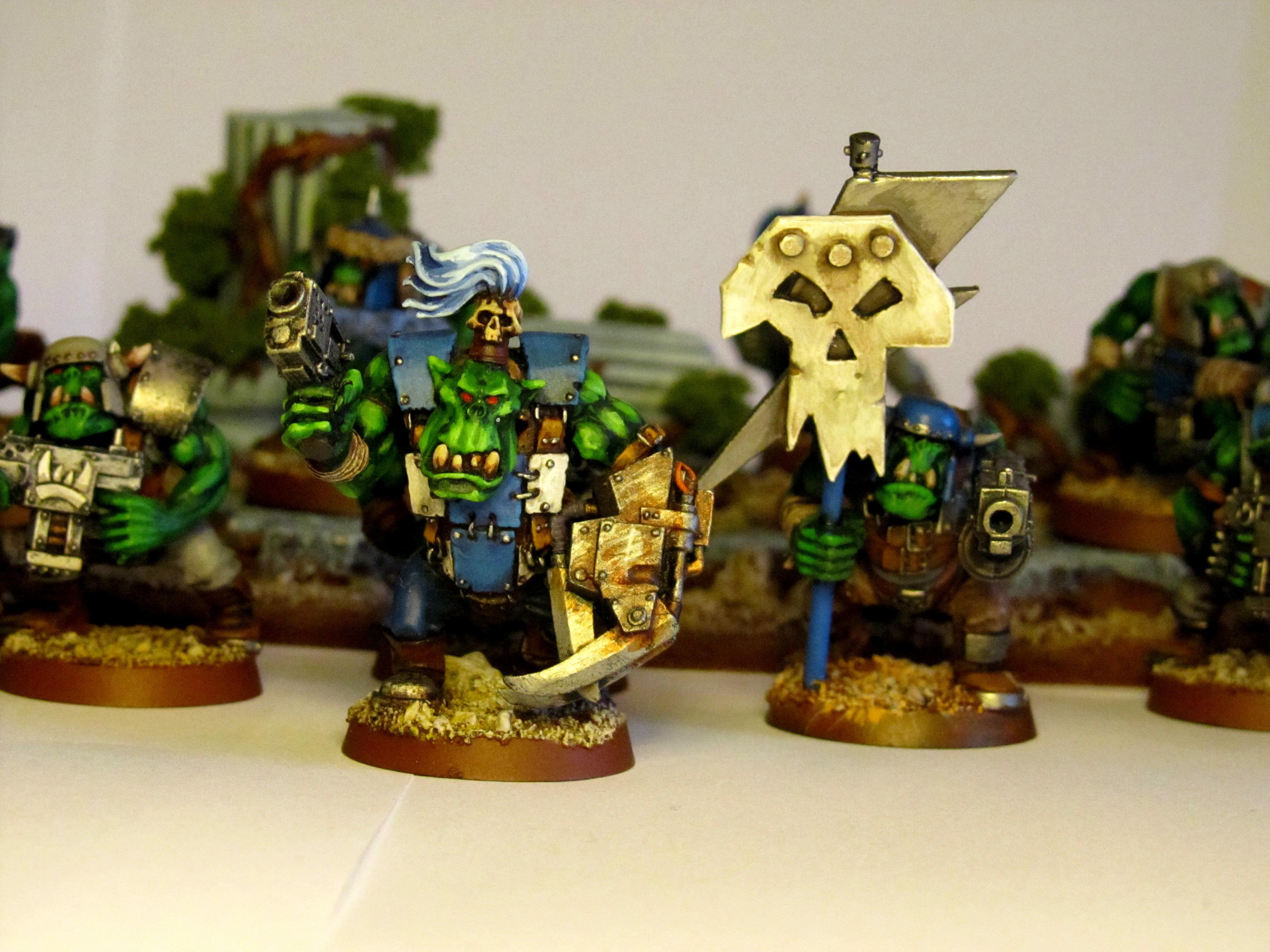 Deathskulls, Nob, Orks, Warhammer 40,000, Warhammer Fantasy