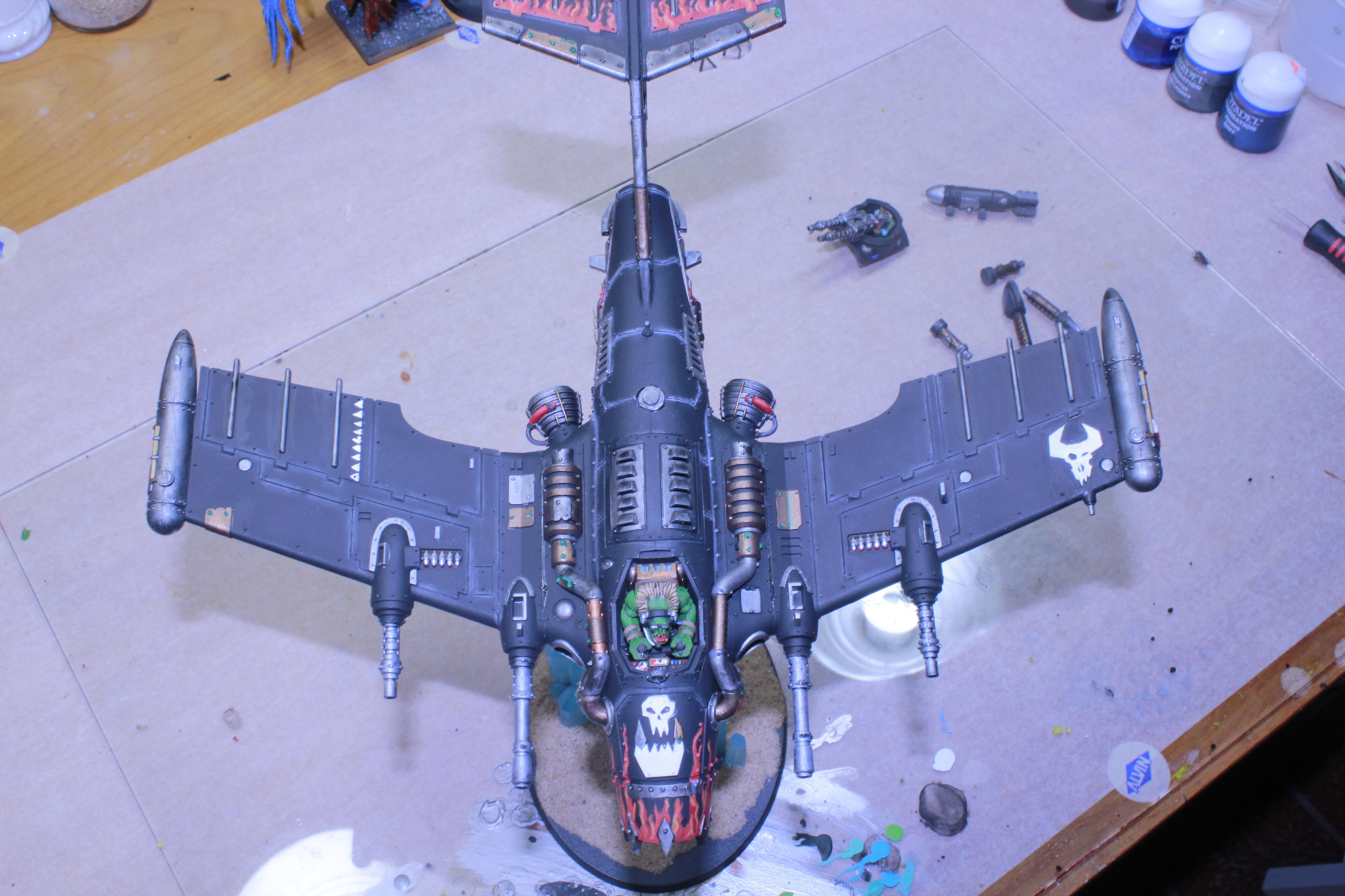 Aircraft, Bommer, Dakka Jet, Dakkajet, Orks, Plane